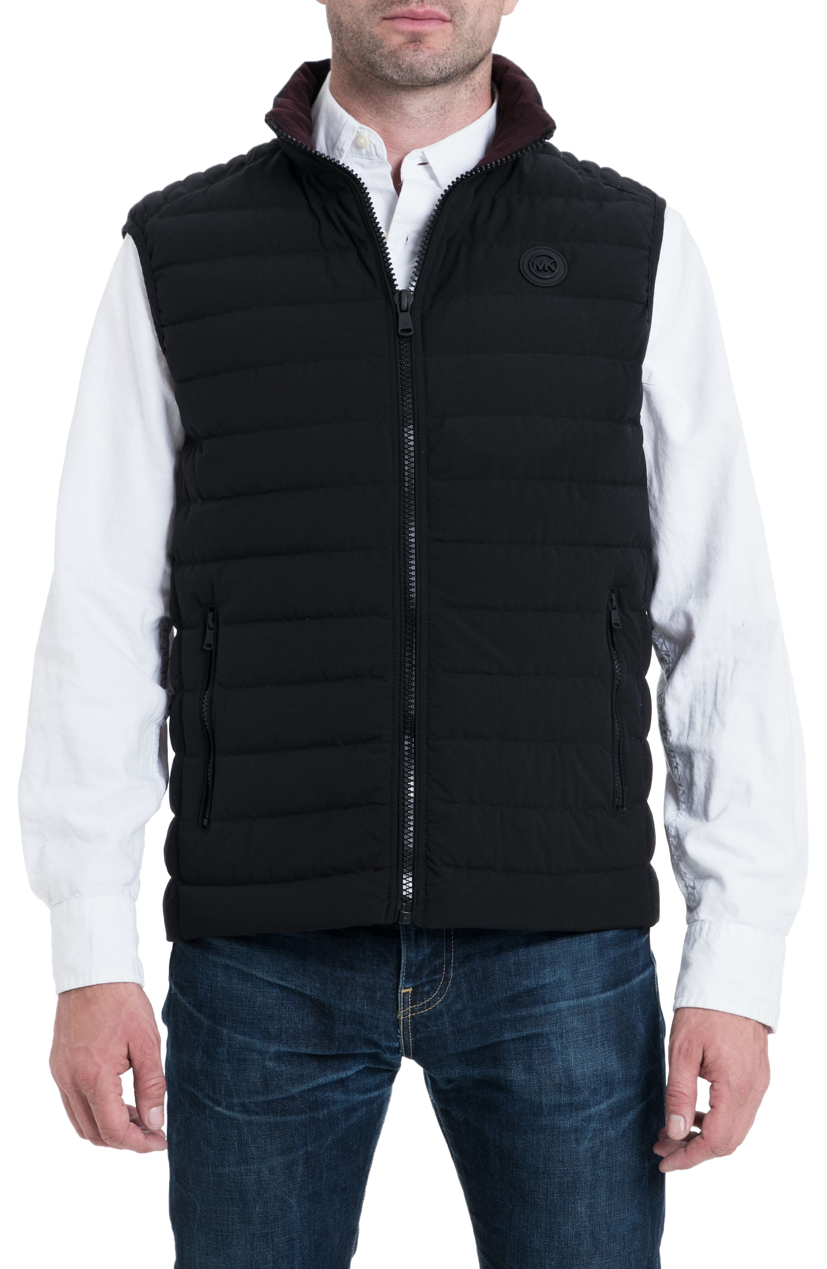 Marshall Vest,                             Main thumbnail 1, color,                             BLACK