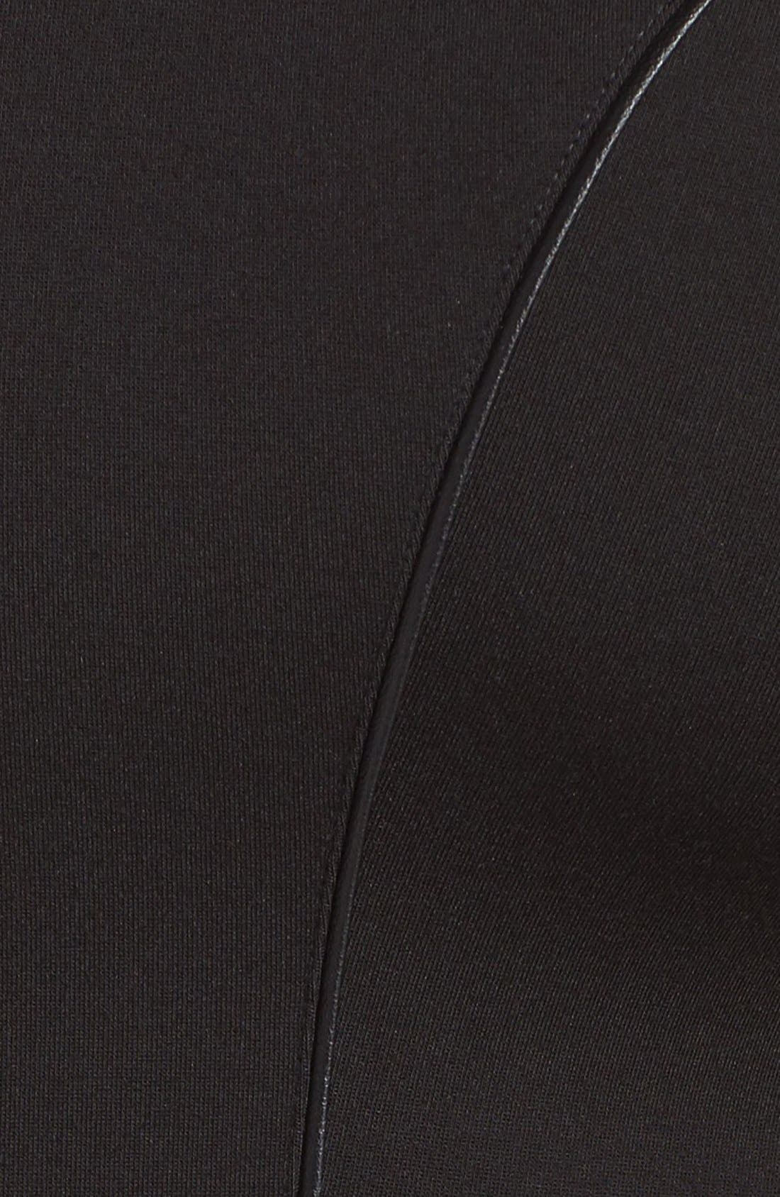 'Viera' Piped Detail V-Neck Sheath Dress,                             Alternate thumbnail 14, color,