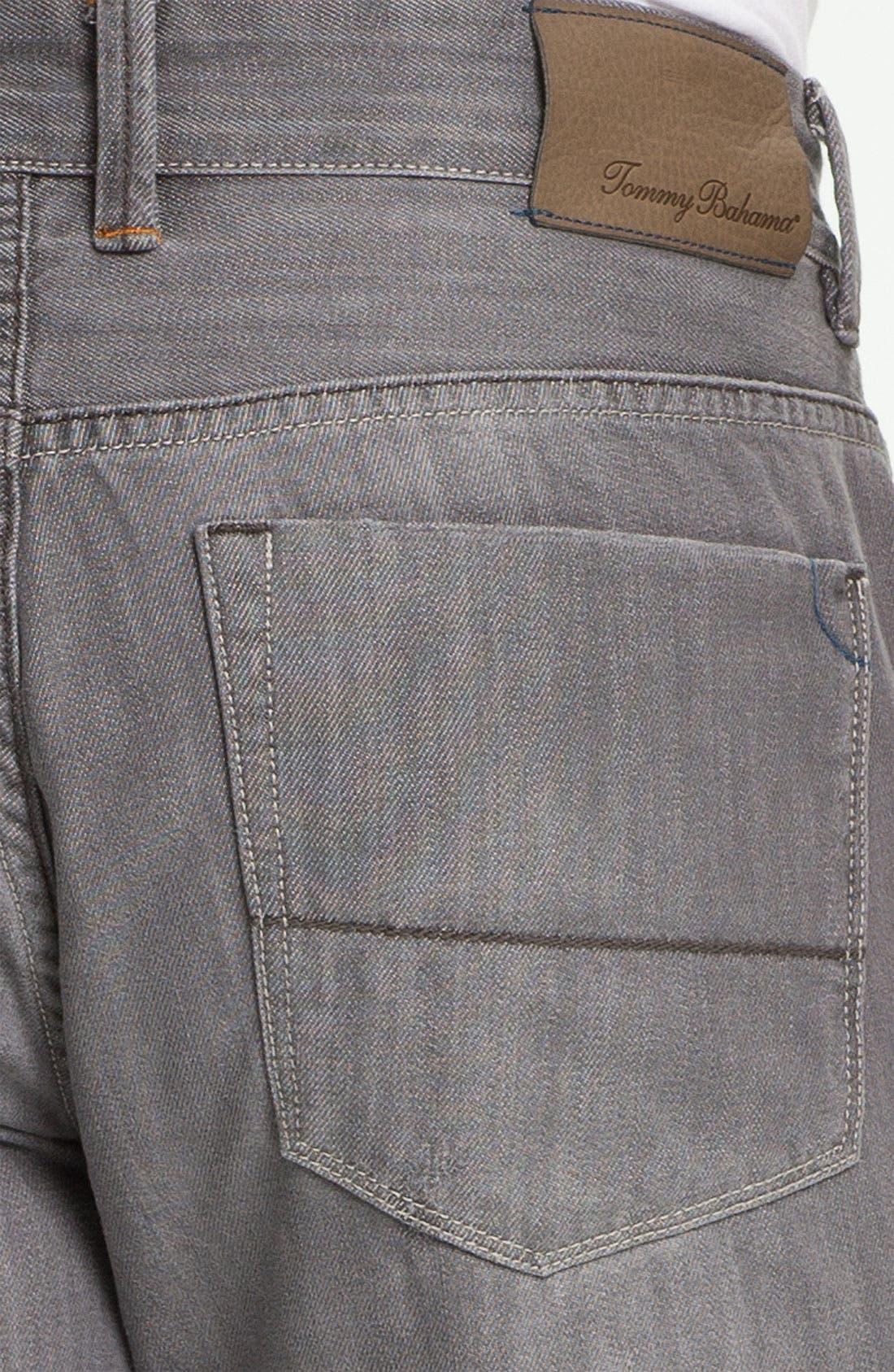 Denim 'Zander' Authentic Straight Leg Jeans,                             Alternate thumbnail 2, color,                             050