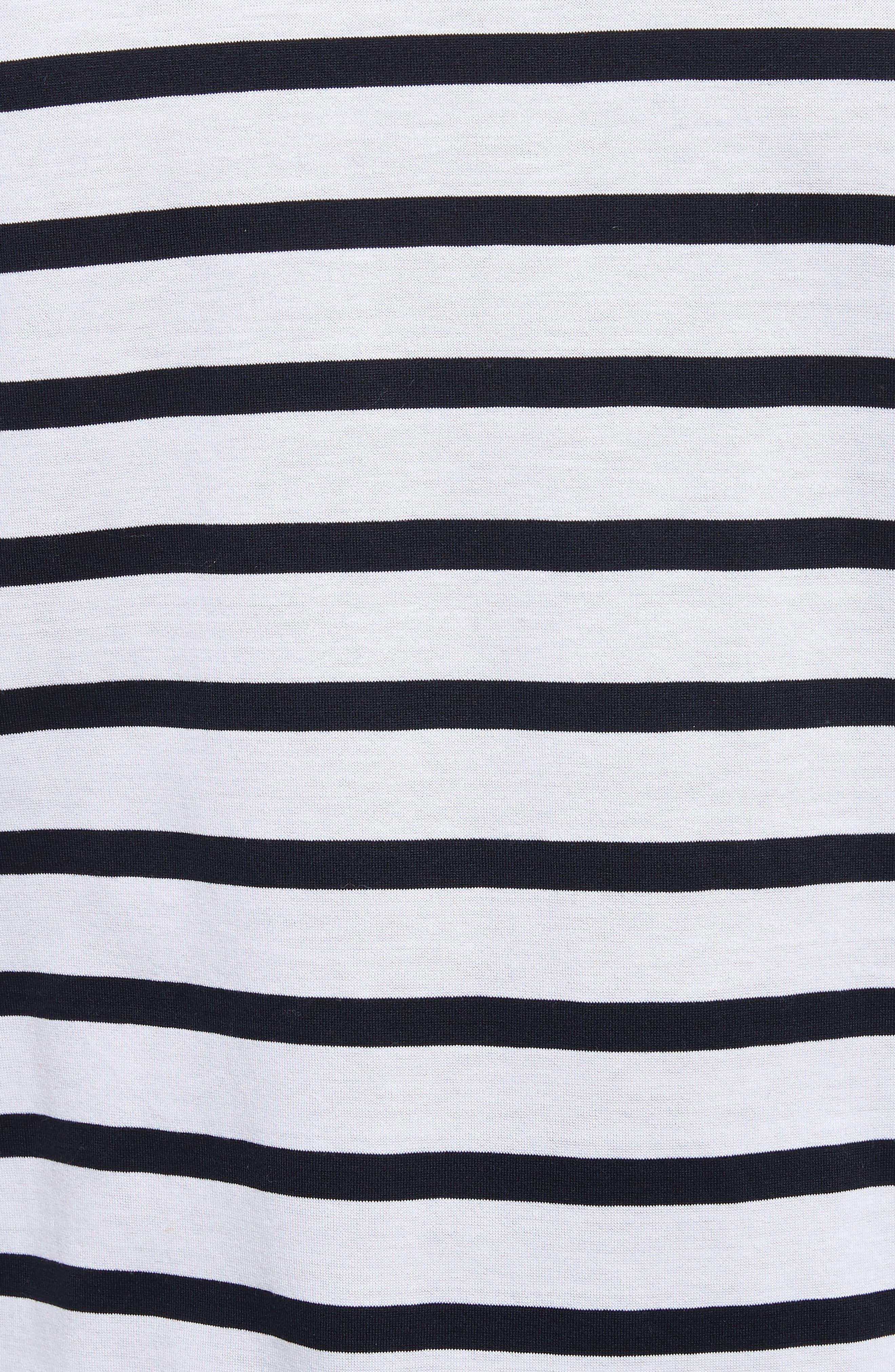 Henry Stripe Long Sleeve T-Shirt,                             Alternate thumbnail 5, color,                             182