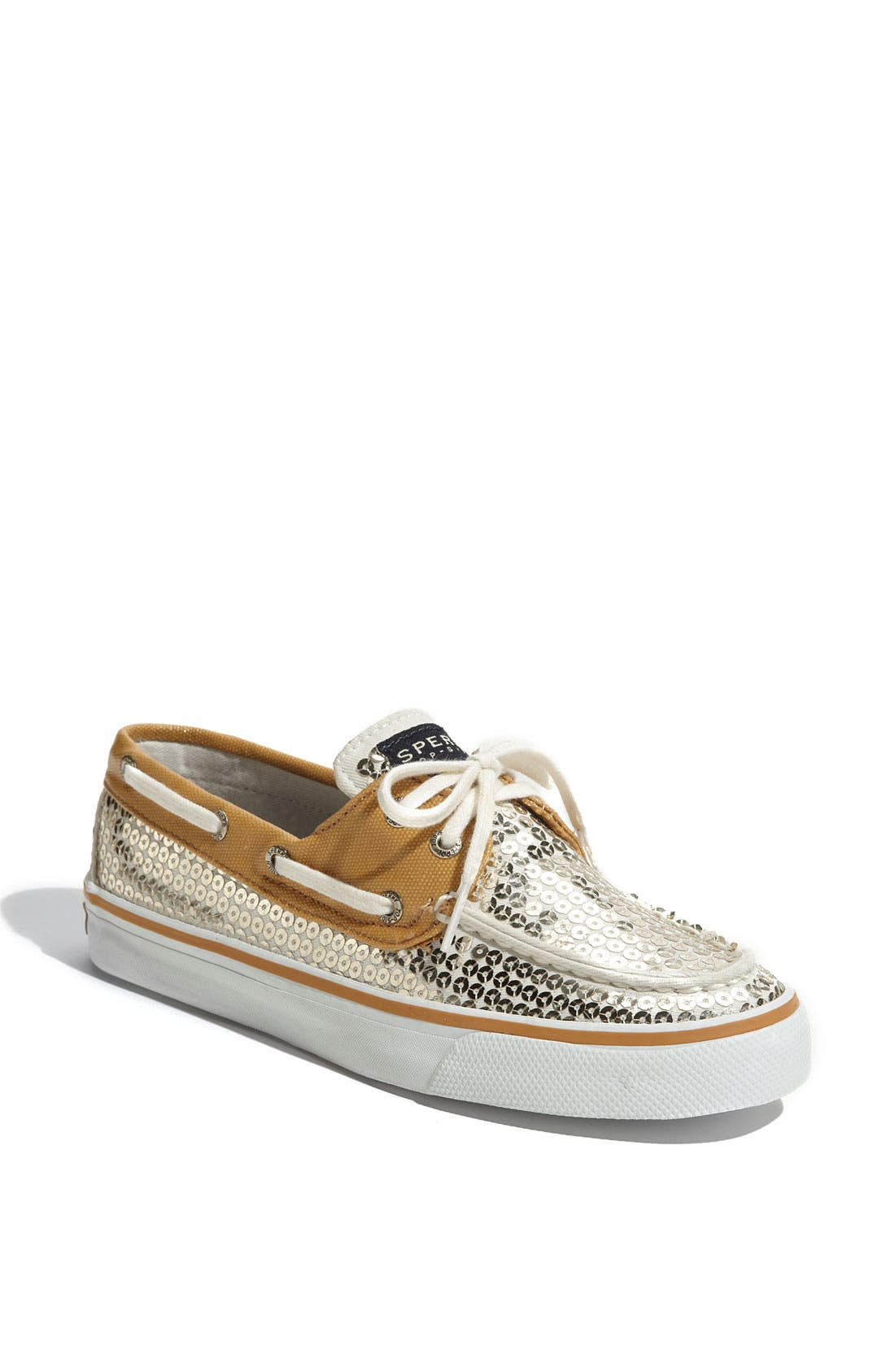 Top-Sider<sup>®</sup> 'Bahama' Sequined Boat Shoe,                             Main thumbnail 45, color,