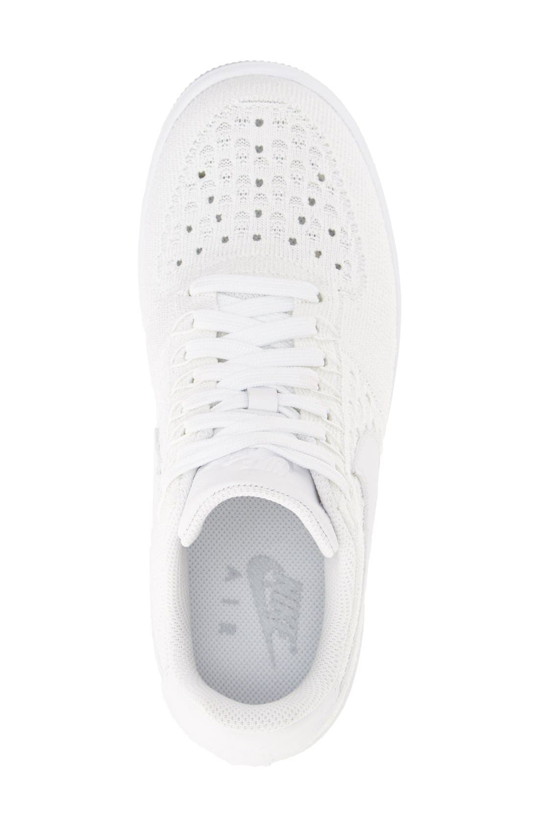 'Air Force 1 Flyknit Low' Sneaker,                             Alternate thumbnail 11, color,