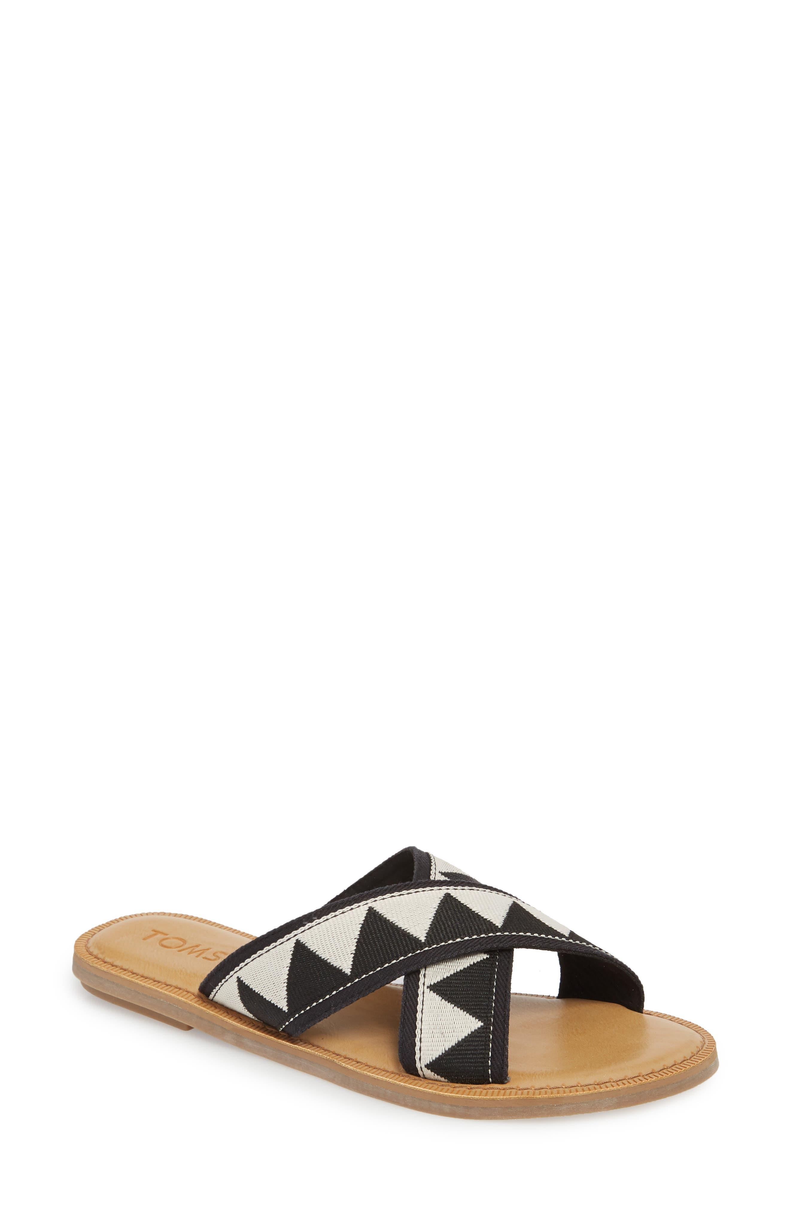 Viv Sandal, Main, color, BLACK TRIBAL