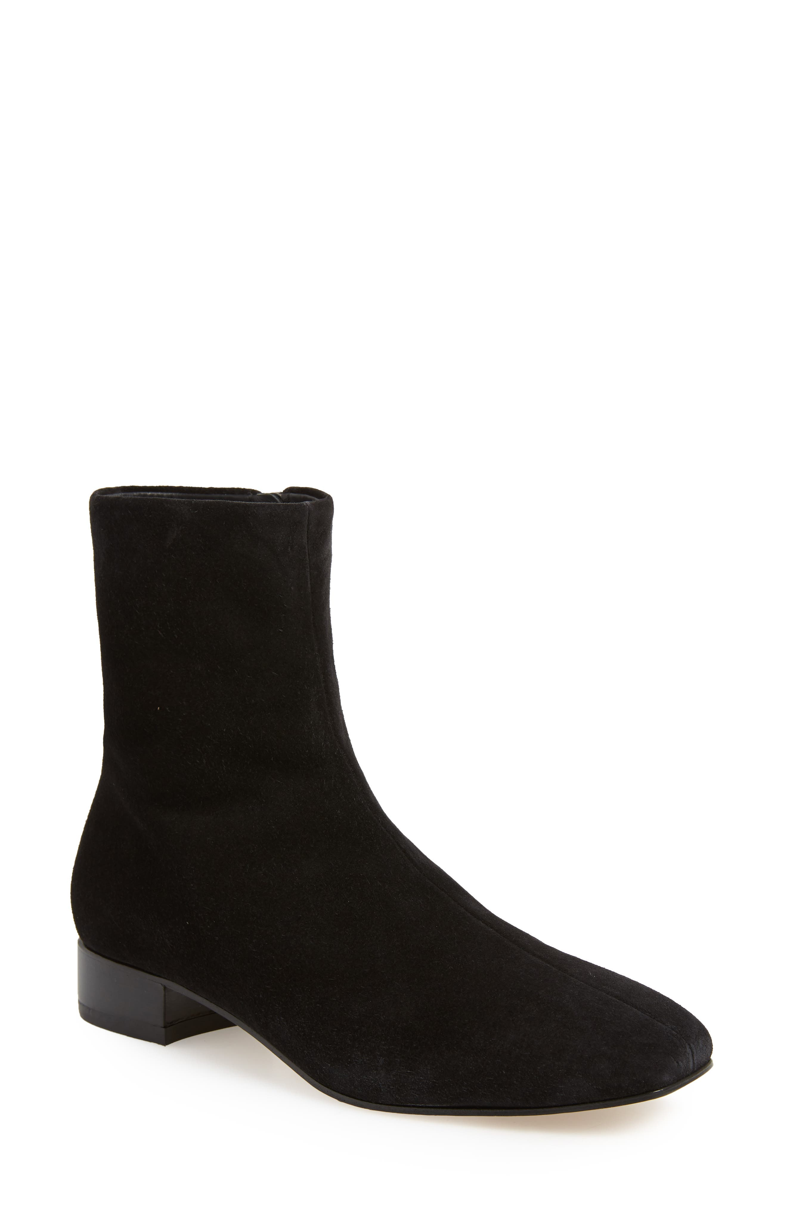RAG & BONE Aslen Boot, Main, color, BLACK SUEDE