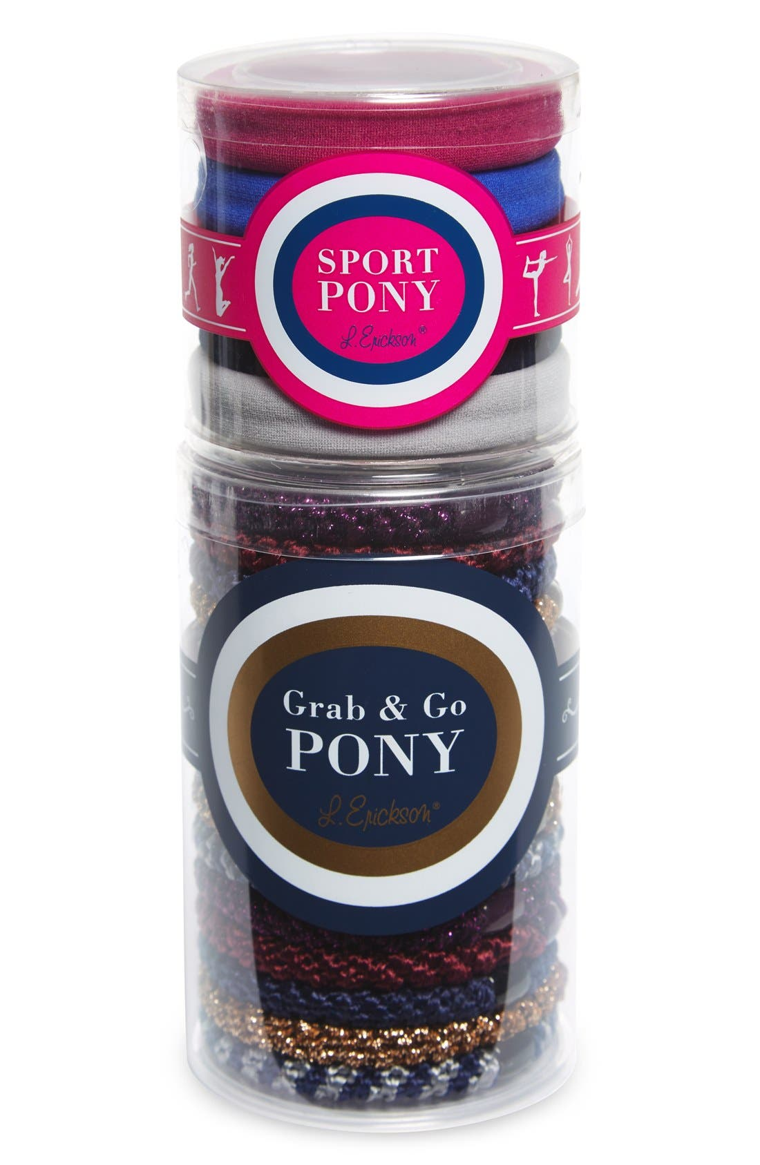 20-Pack Ponytail Holders,                         Main,                         color, 400