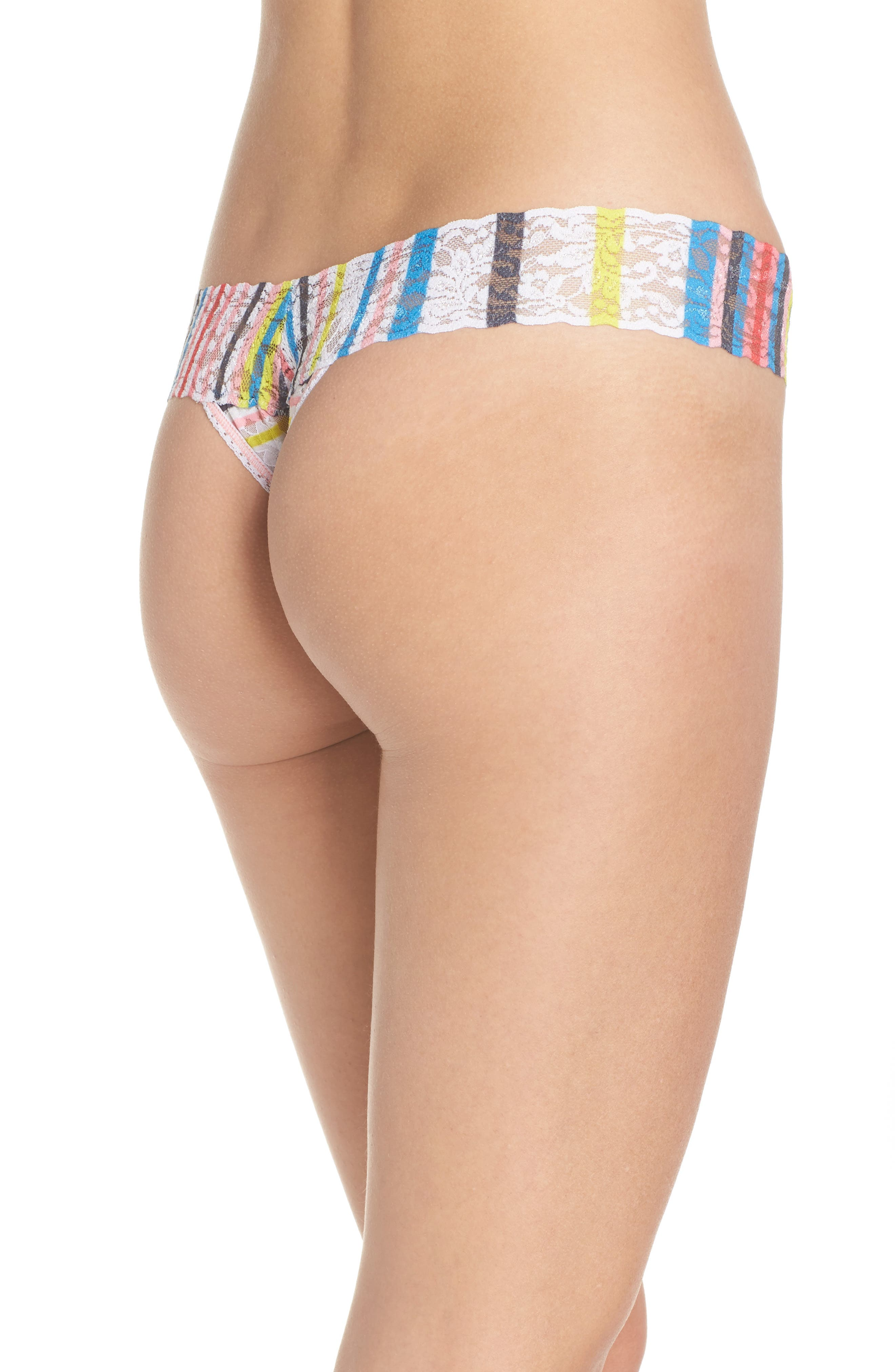 Print Low Rise Thong,                             Alternate thumbnail 30, color,