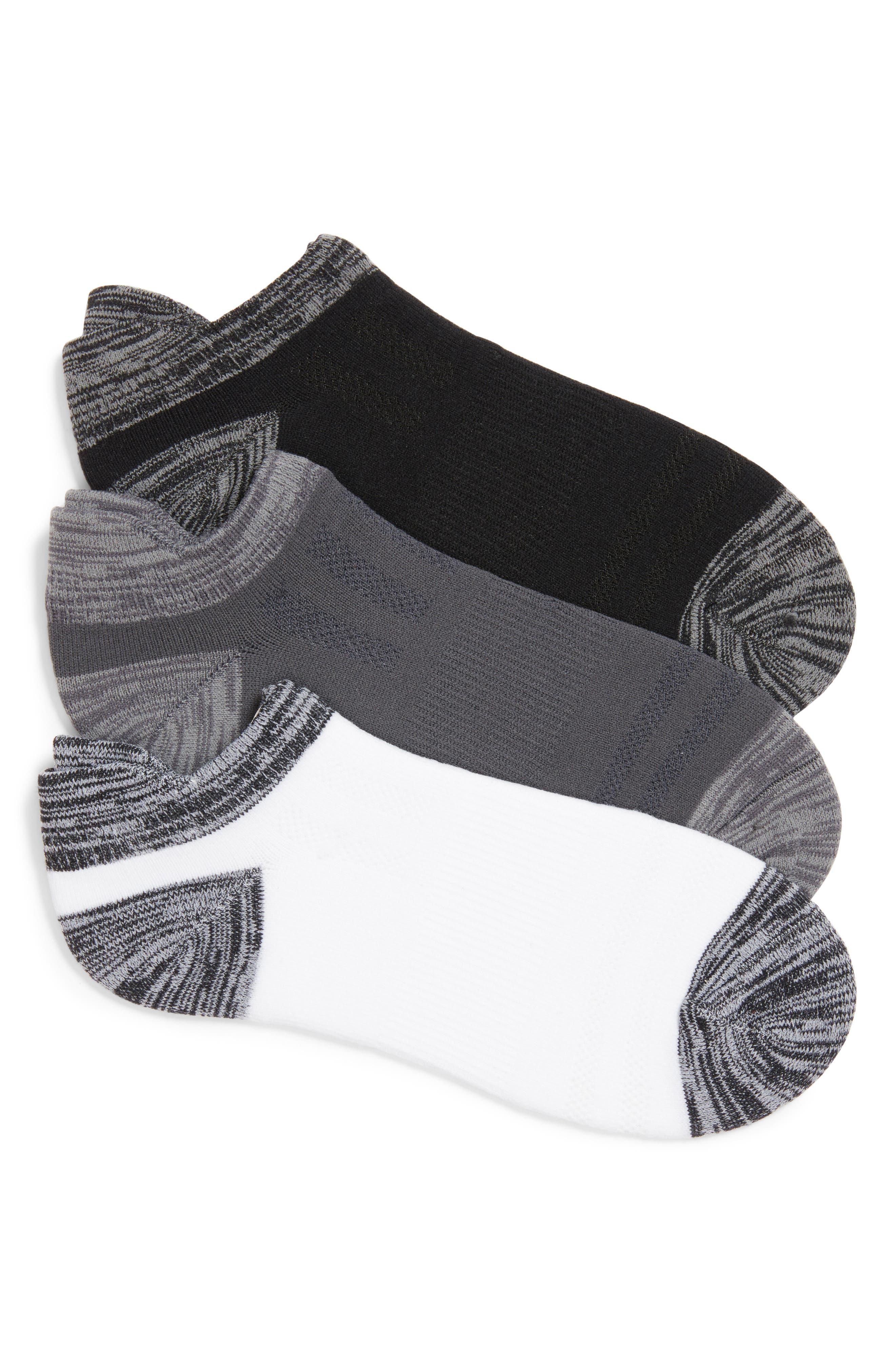 3-Pack Low Cut Socks,                         Main,                         color, 002