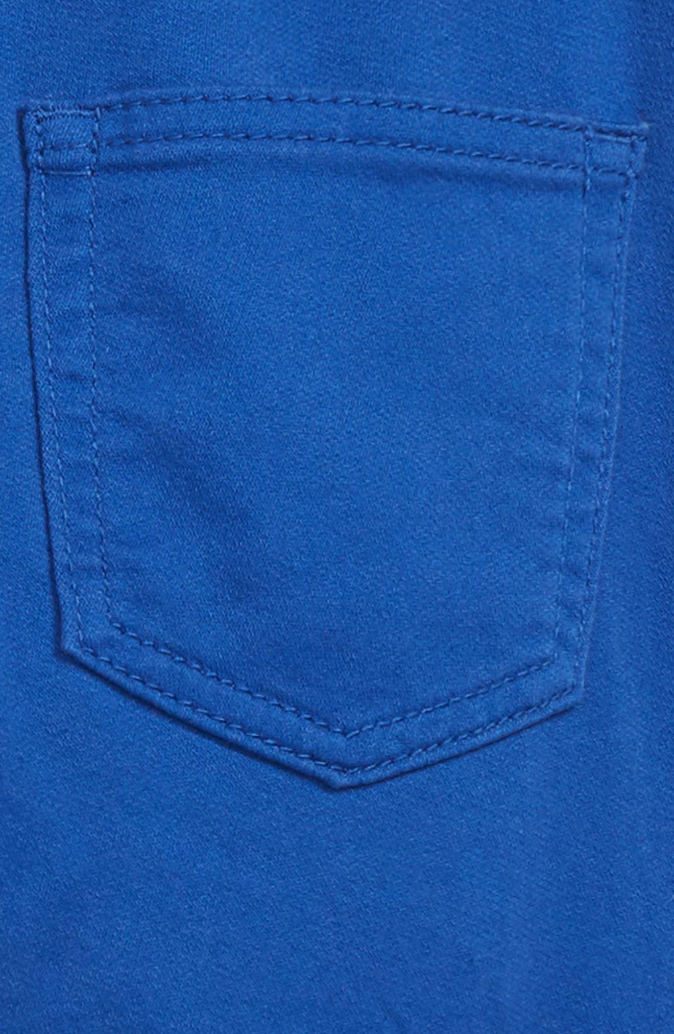 Runaround Garment Dye Jeans,                             Alternate thumbnail 3, color,                             LAGOON BLUE