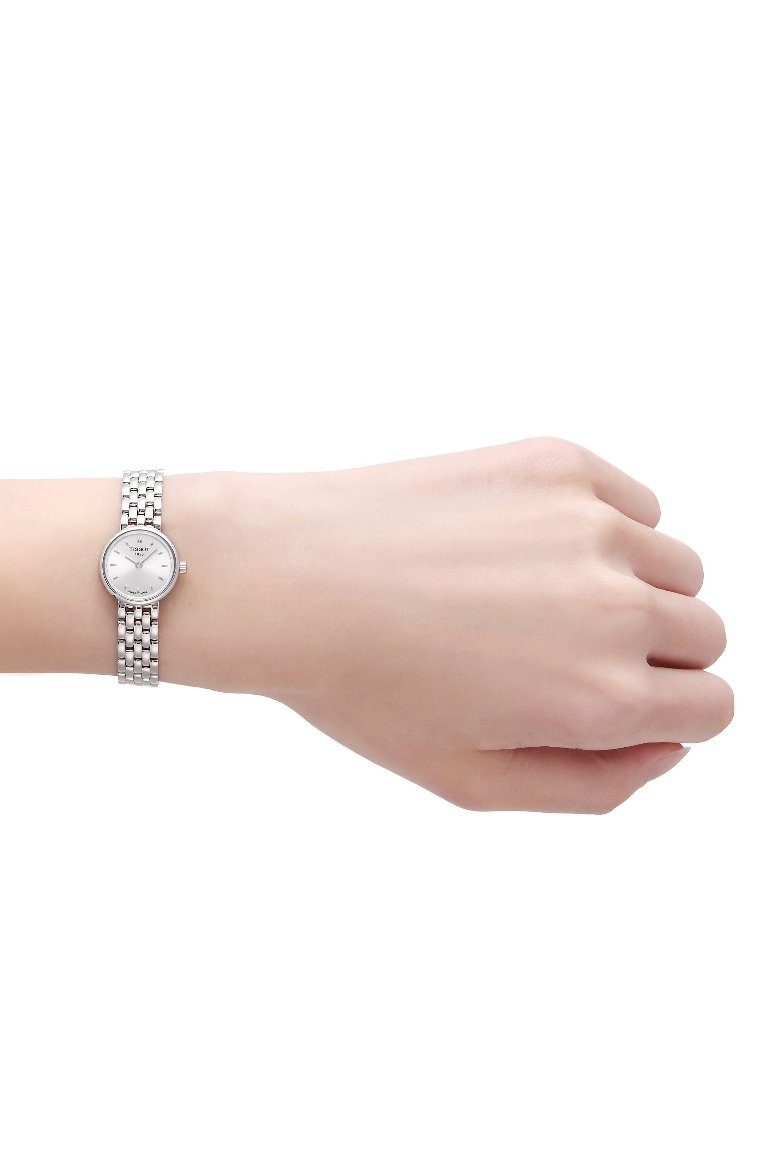 Lovely Bracelet Watch, 19mm,                             Alternate thumbnail 2, color,                             SILVER