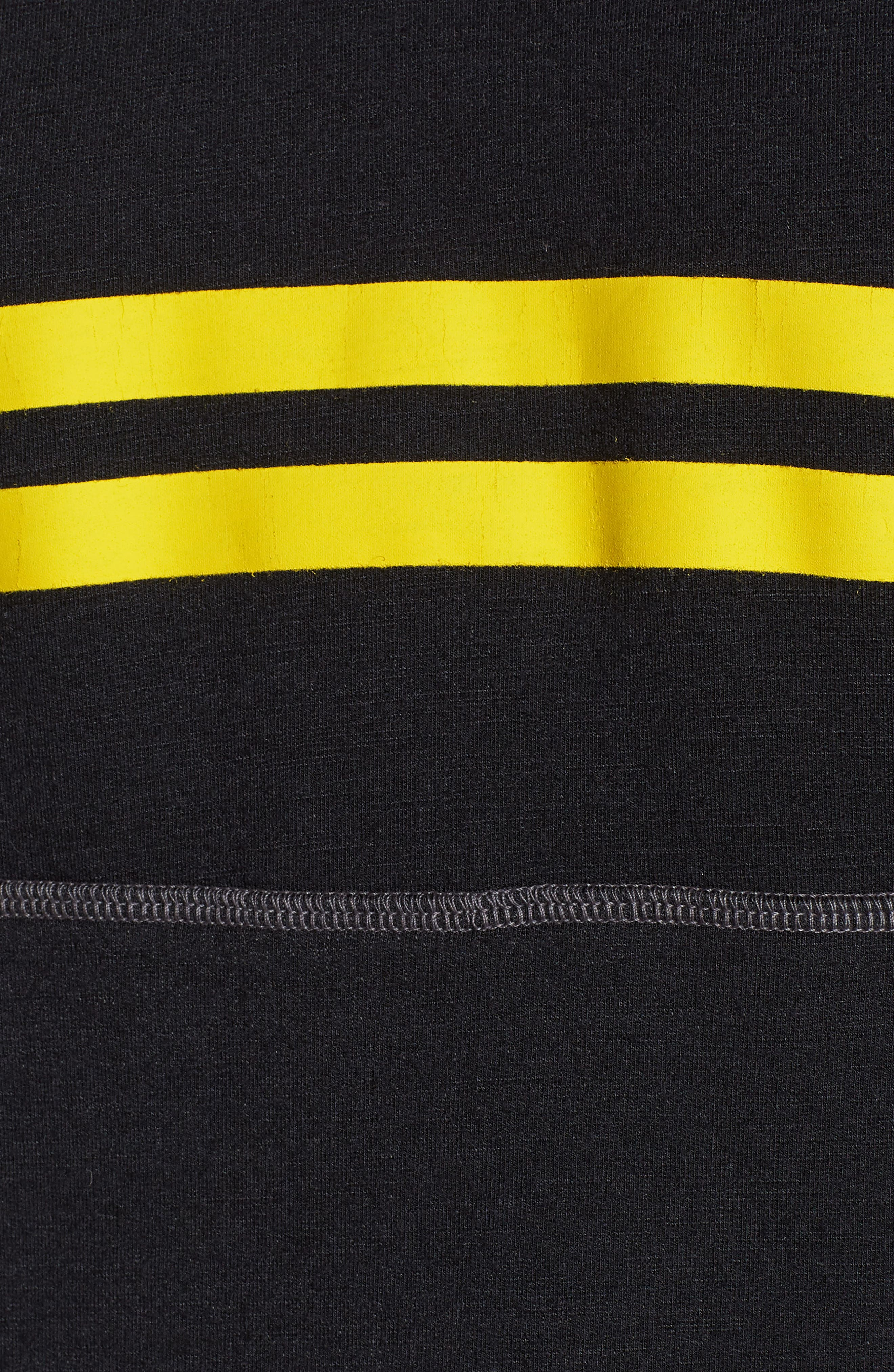 Stripe Hoodie,                             Alternate thumbnail 6, color,