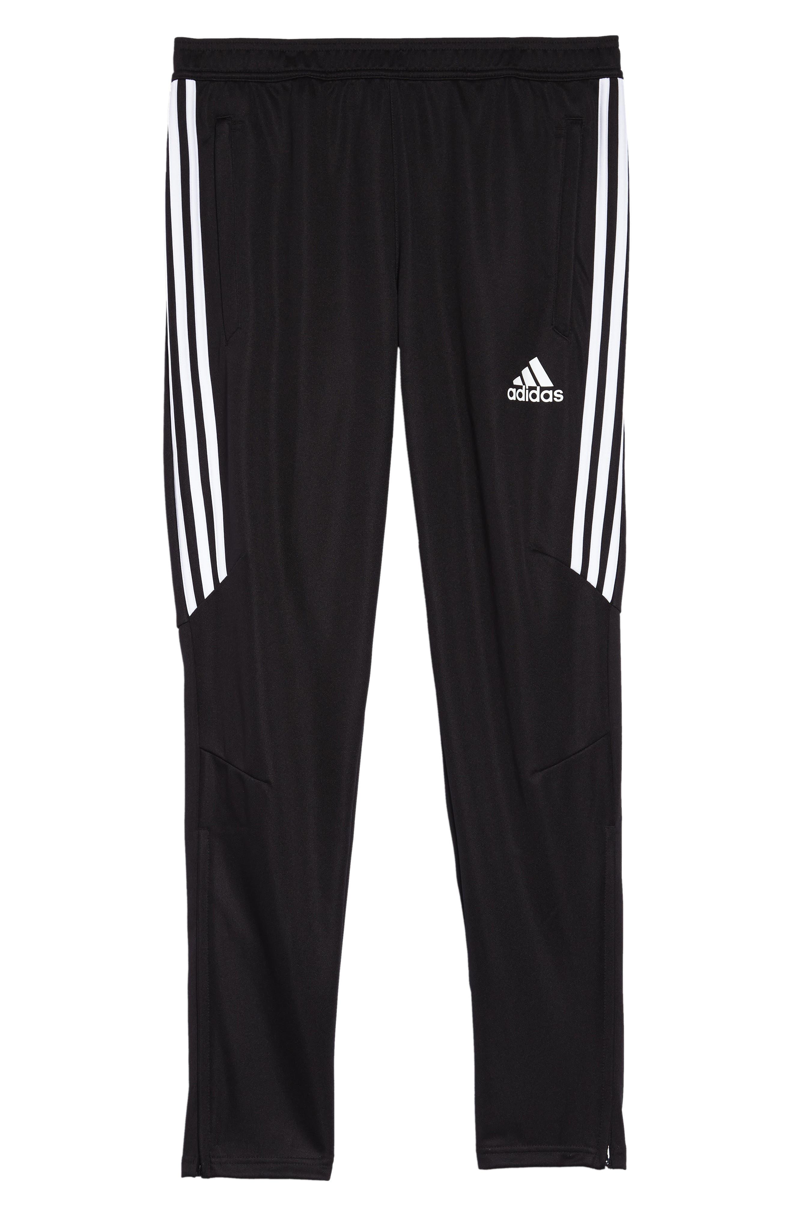 Tiro 17 Training Pants,                             Alternate thumbnail 2, color,                             BLACK/ WHITE/ WHITE