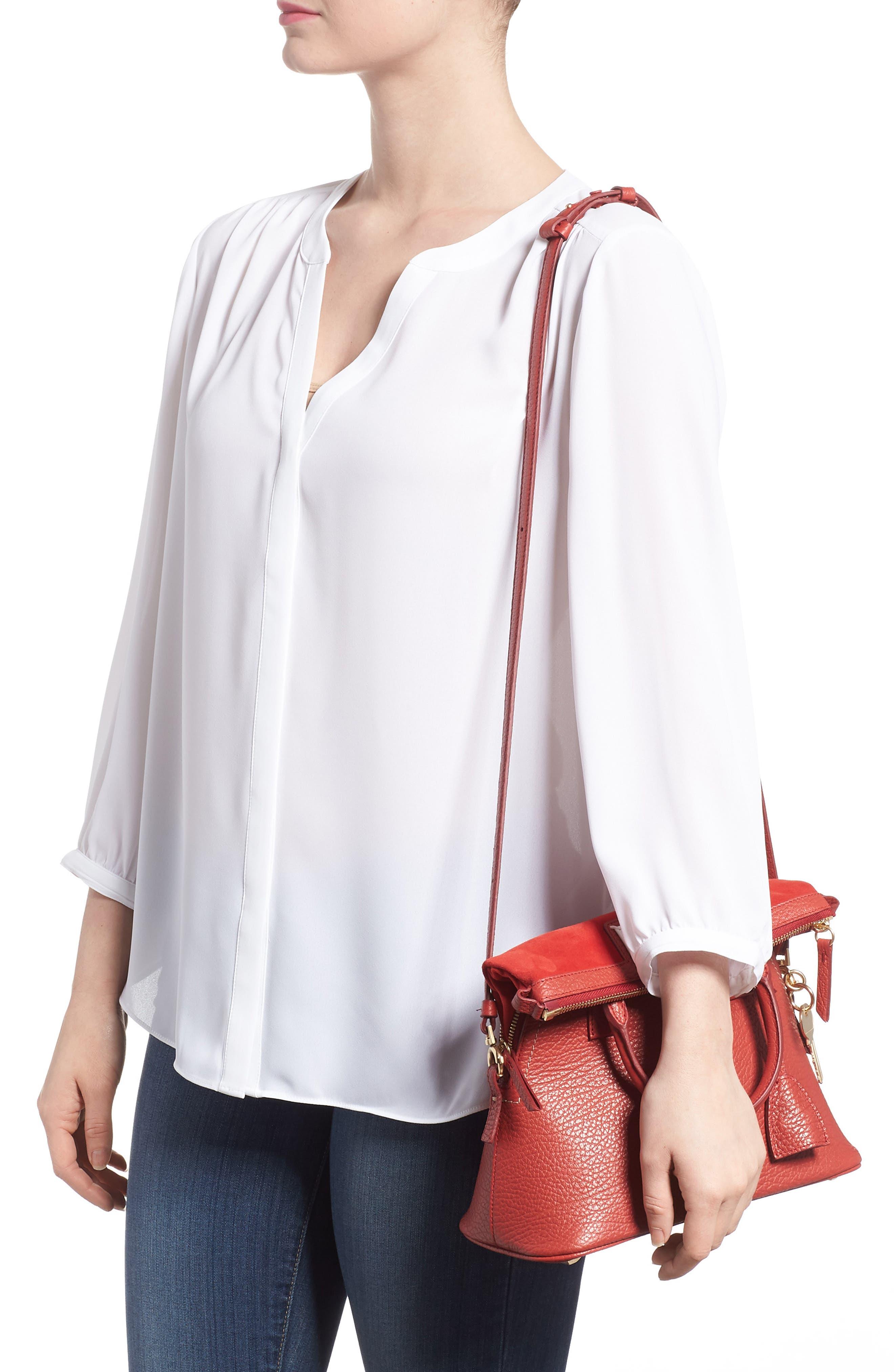 Small 5AC Calfskin Leather Handbag,                             Alternate thumbnail 2, color,                             600
