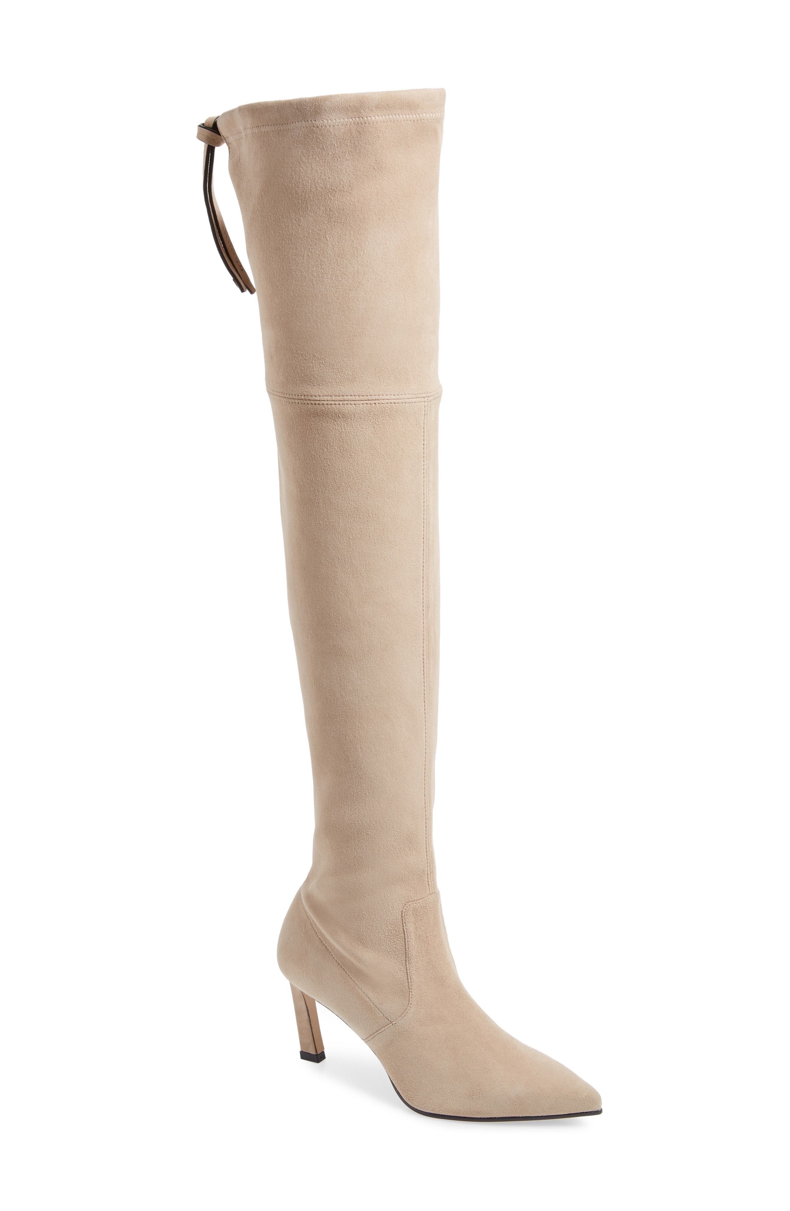 e621e709357 Stuart Weitzman Natalia 75Mm Suede Over-The-Knee Boots In Brownstone Suede