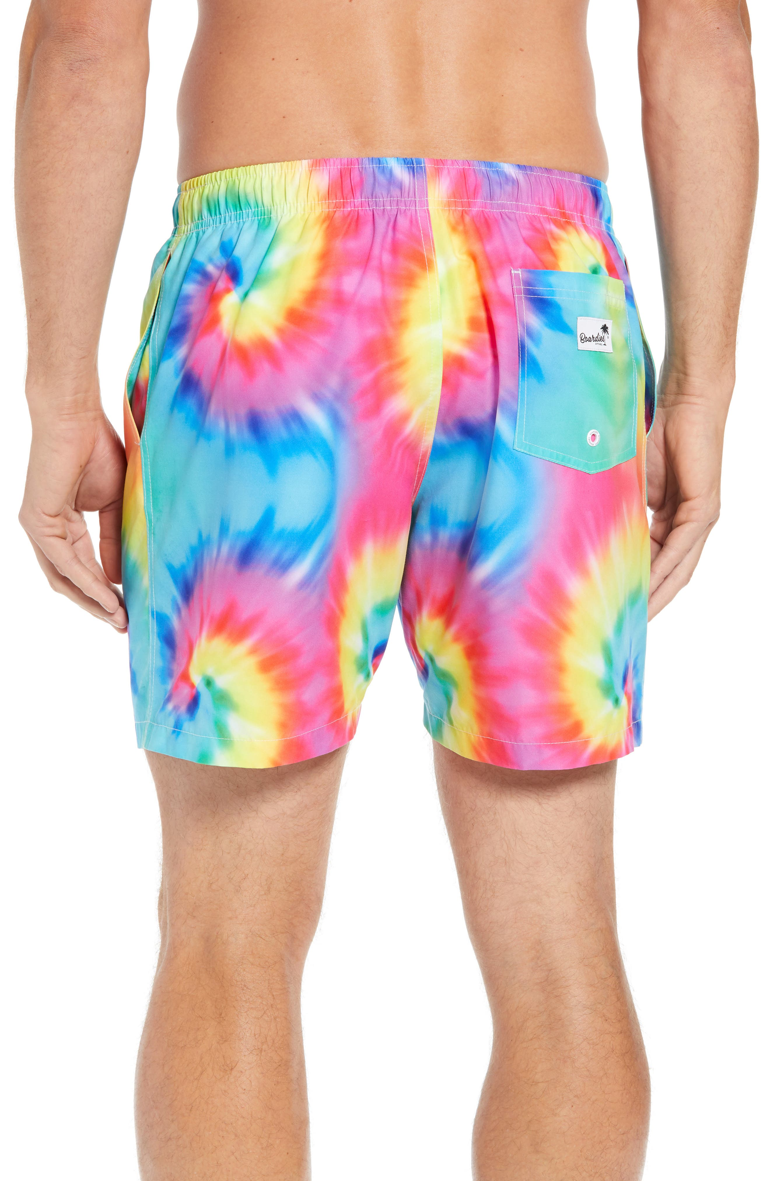 Tie Dye Swim Trunks,                             Alternate thumbnail 2, color,                             400