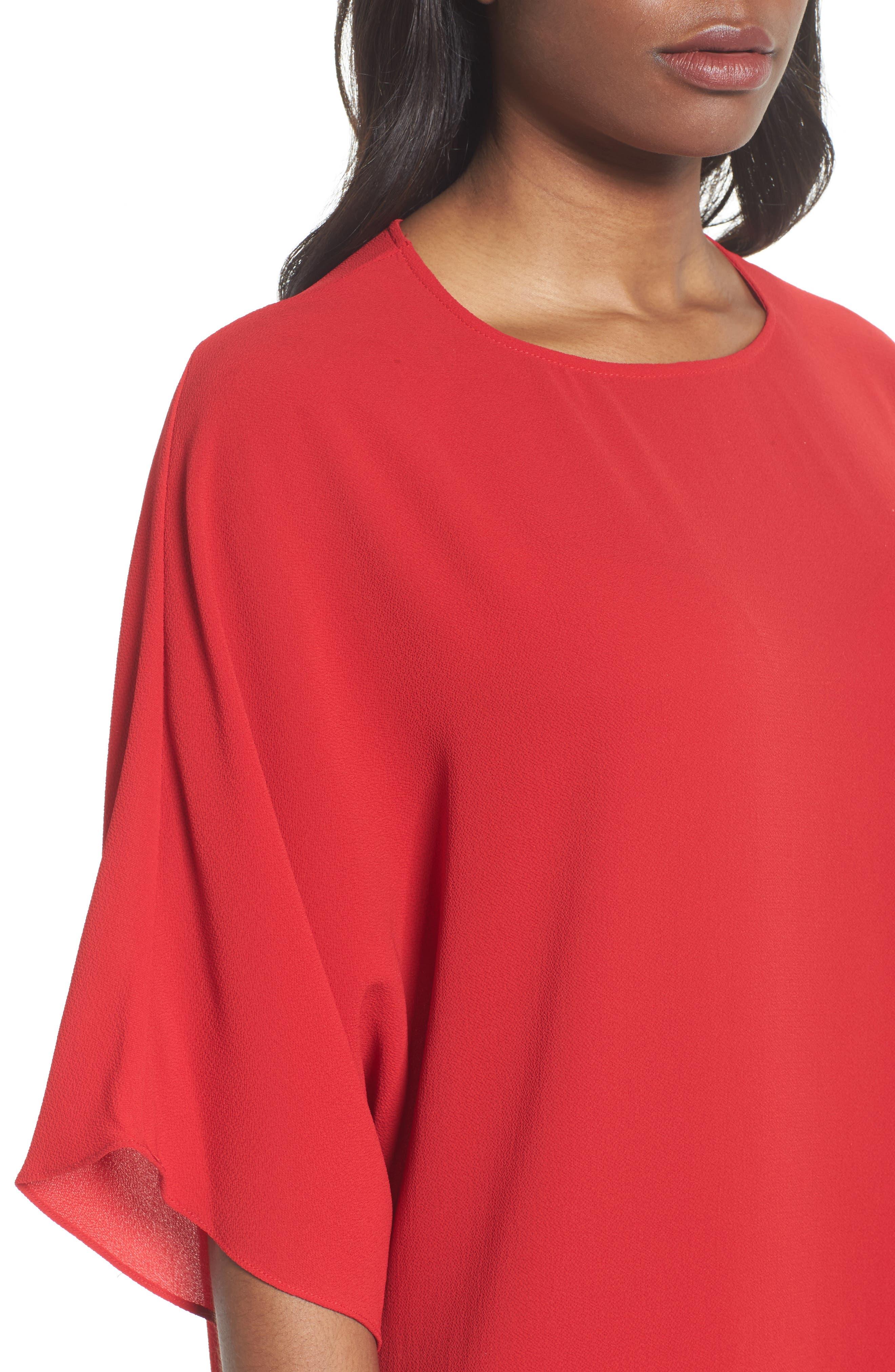 Dolman Sleeve Dress,                             Alternate thumbnail 4, color,                             614