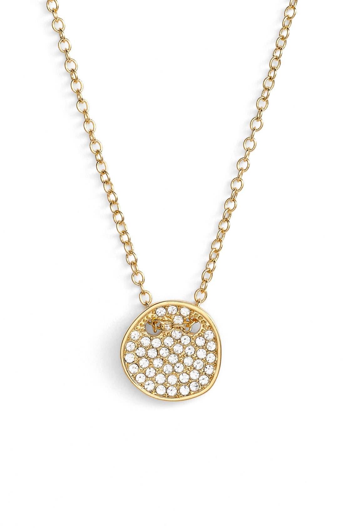 'Modern Metallics' 14k-Gold Plate Layered Necklace,                             Alternate thumbnail 4, color,