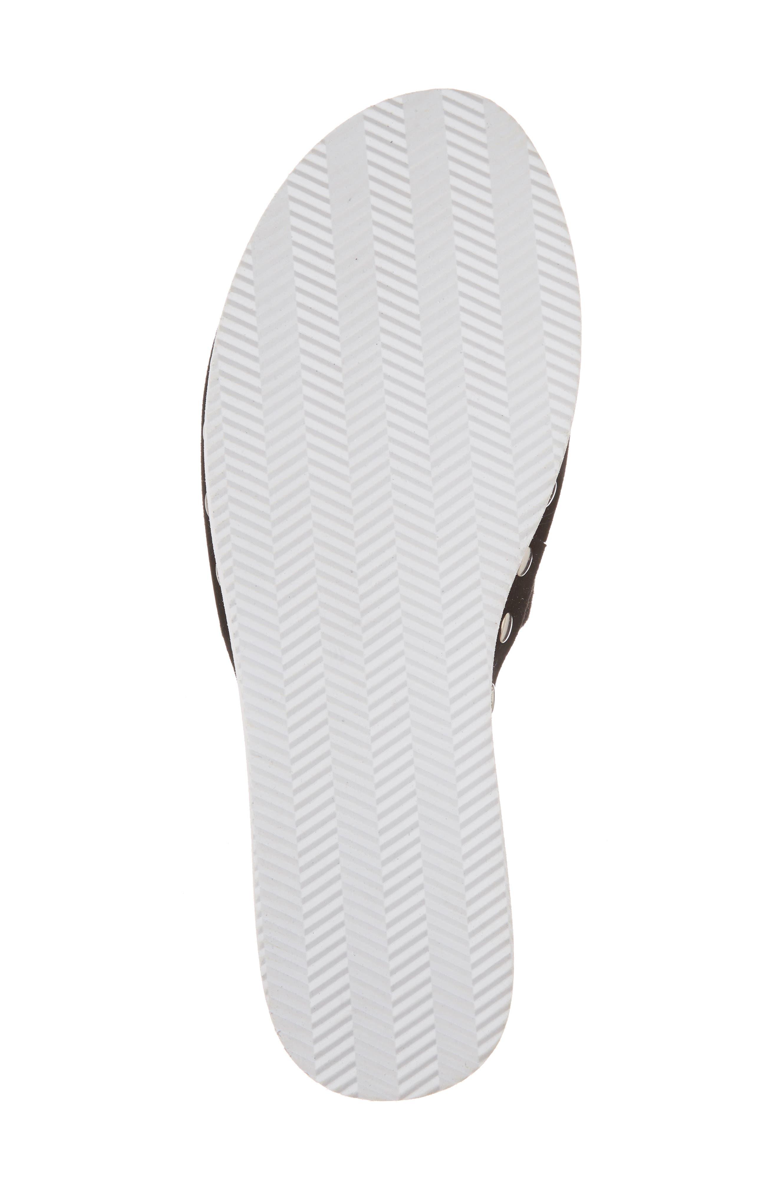 Leon Platform Slide Sandal,                             Alternate thumbnail 6, color,                             002