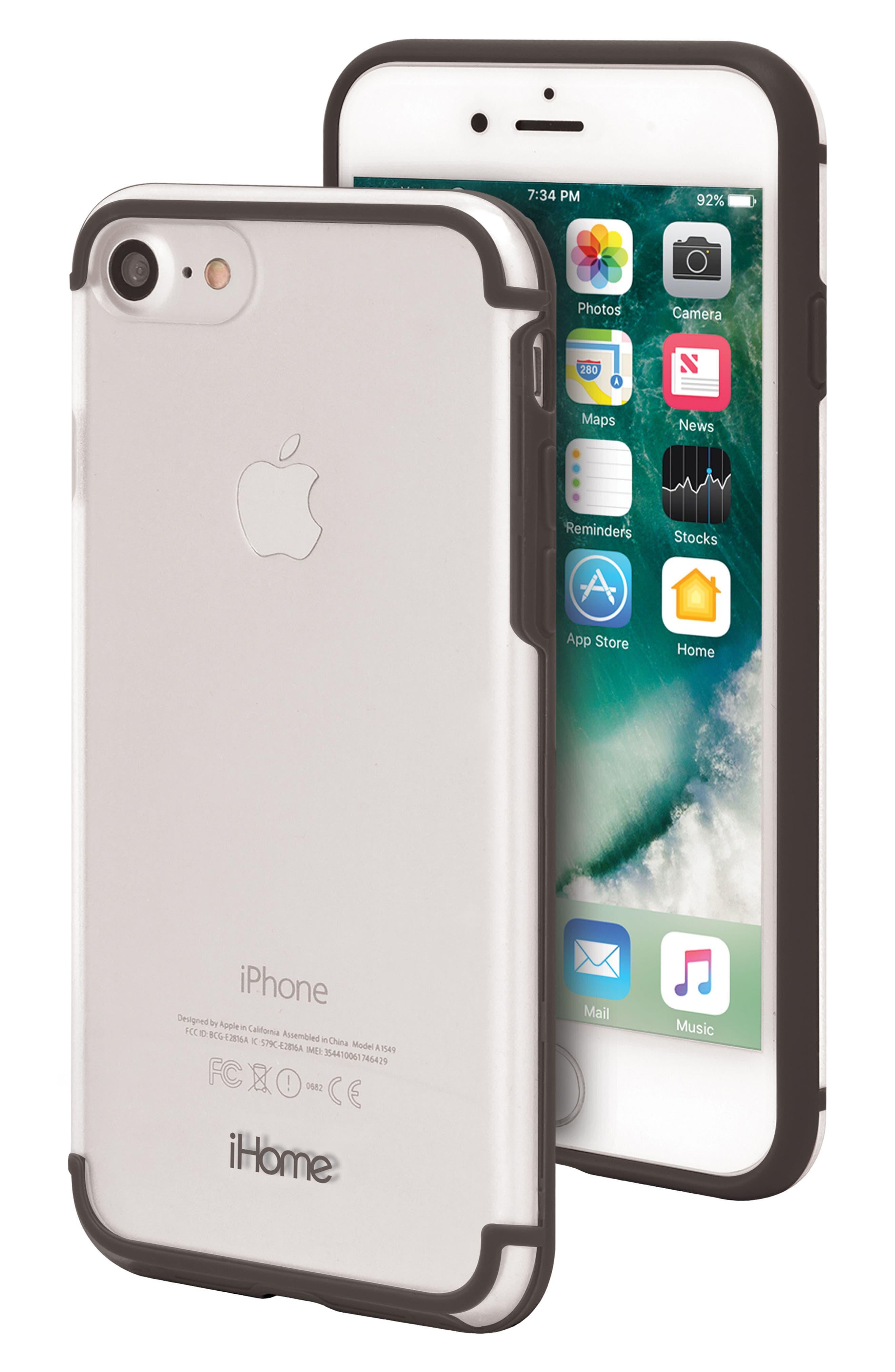 Sheer 2.0 iPhone 7/8 Case,                             Main thumbnail 1, color,                             001
