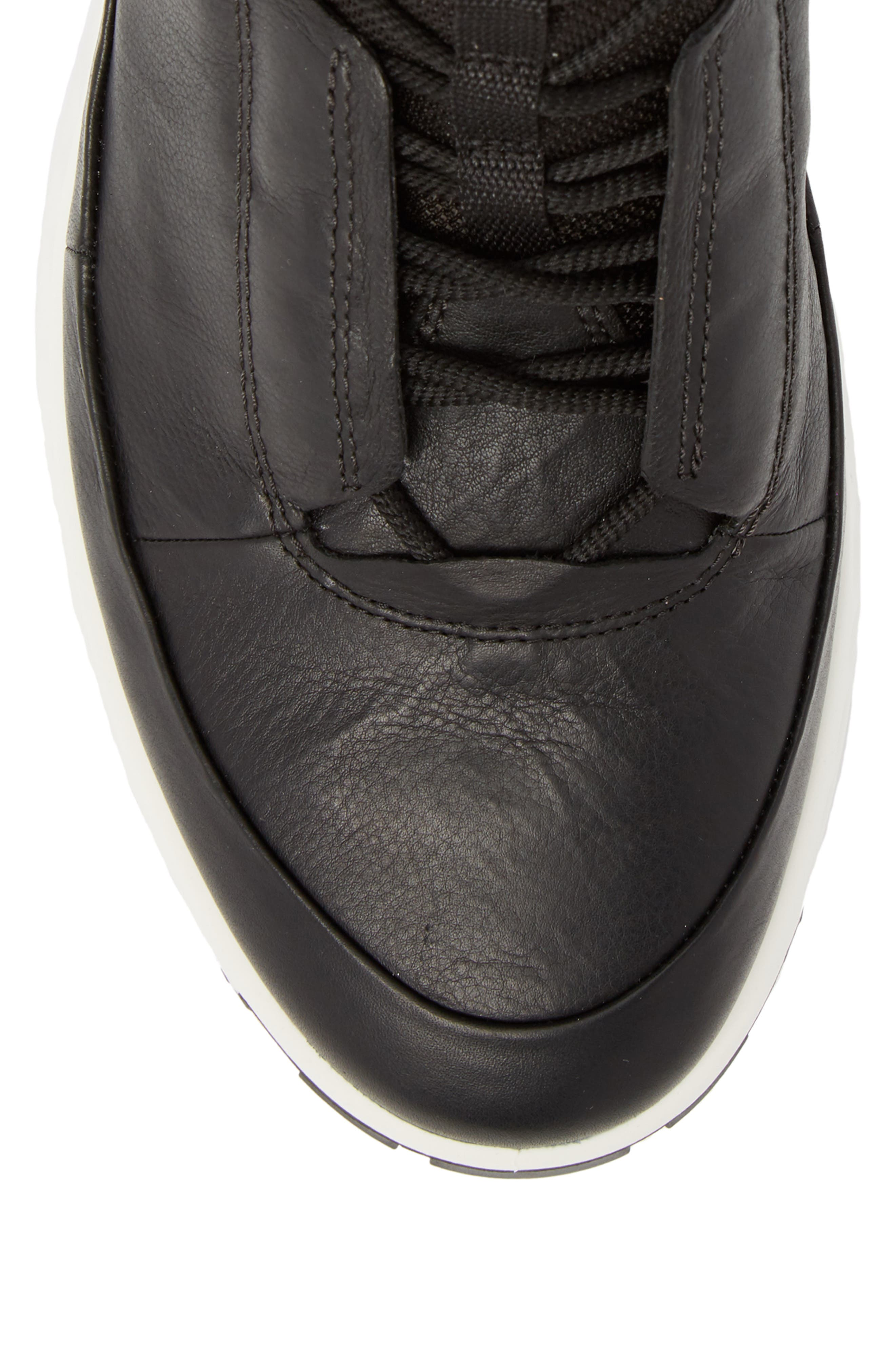 Limited Edition Exostrike Dyneema Sneaker Boot,                             Alternate thumbnail 5, color,                             BLACK LEATHER