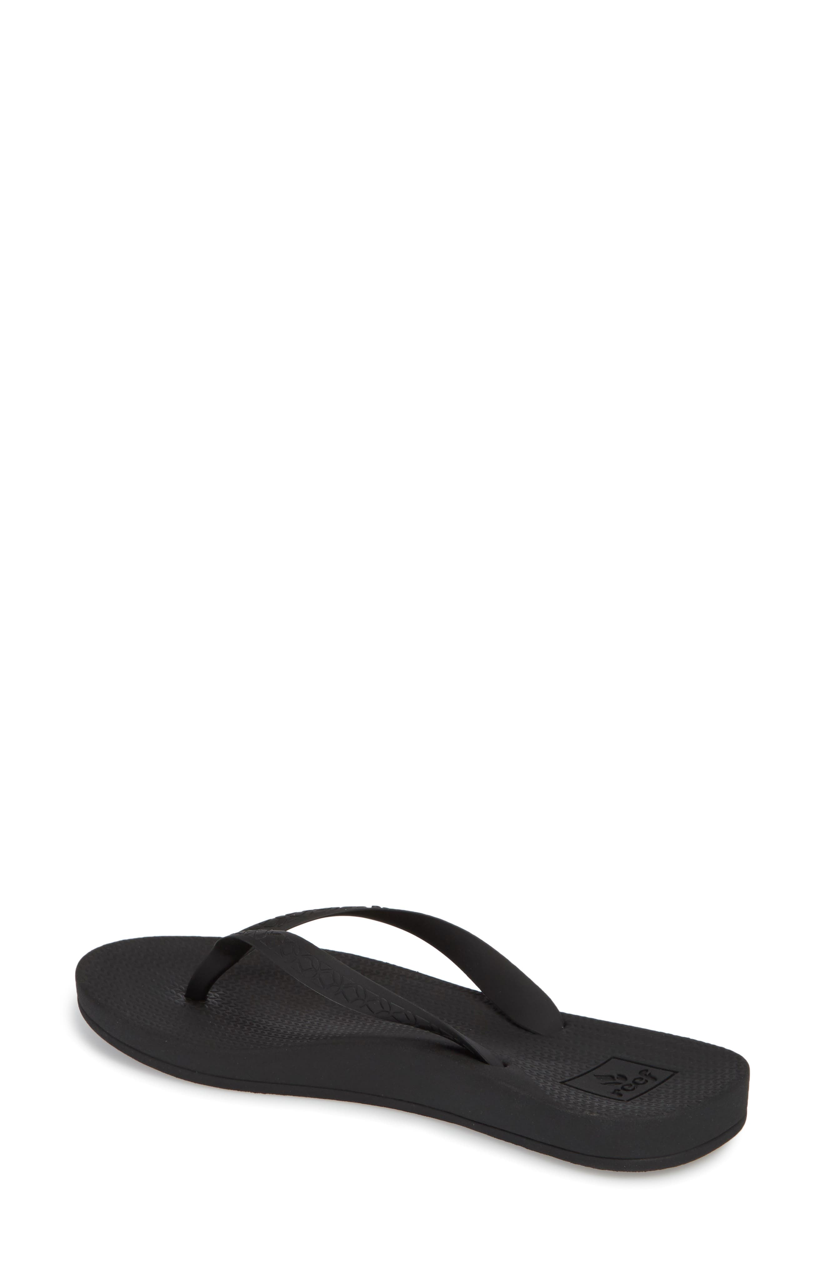 Escape Lux Flip Flop,                             Alternate thumbnail 2, color,                             BLACK