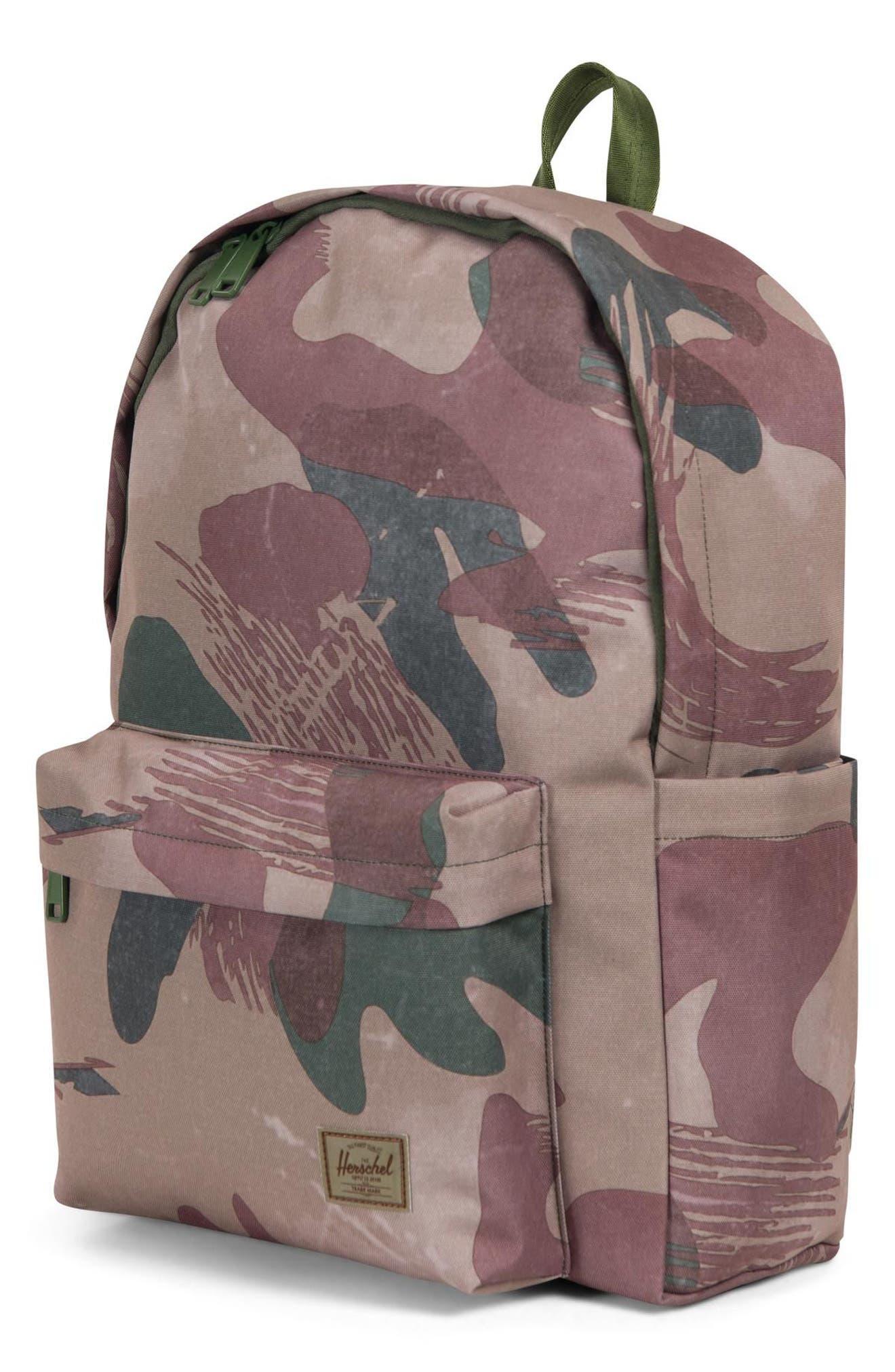 Berg Backpack,                             Alternate thumbnail 3, color,                             BRUSHSTROKE CAMO