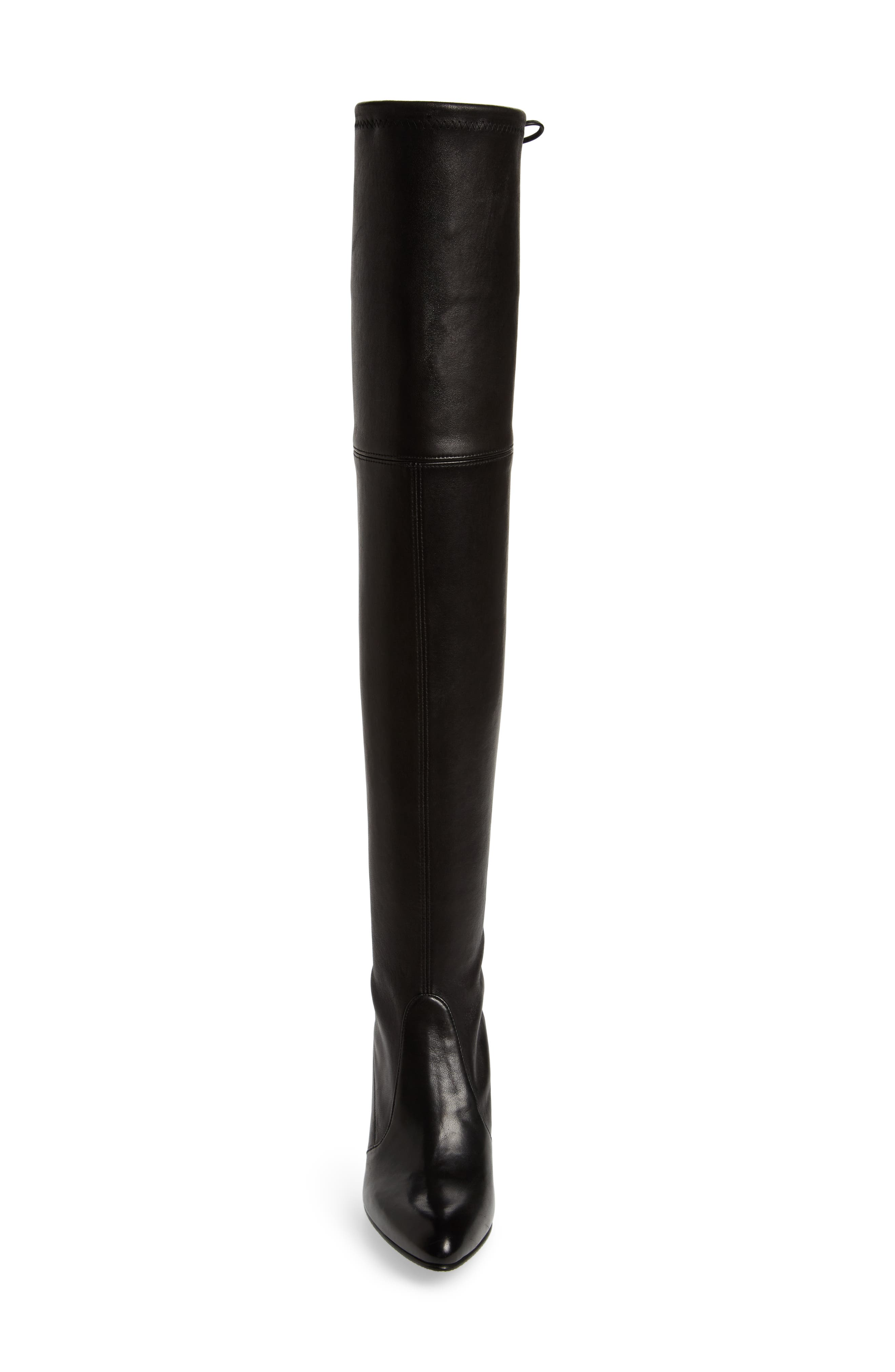 Tiemodel Over the Knee Stretch Boot,                             Alternate thumbnail 4, color,                             002