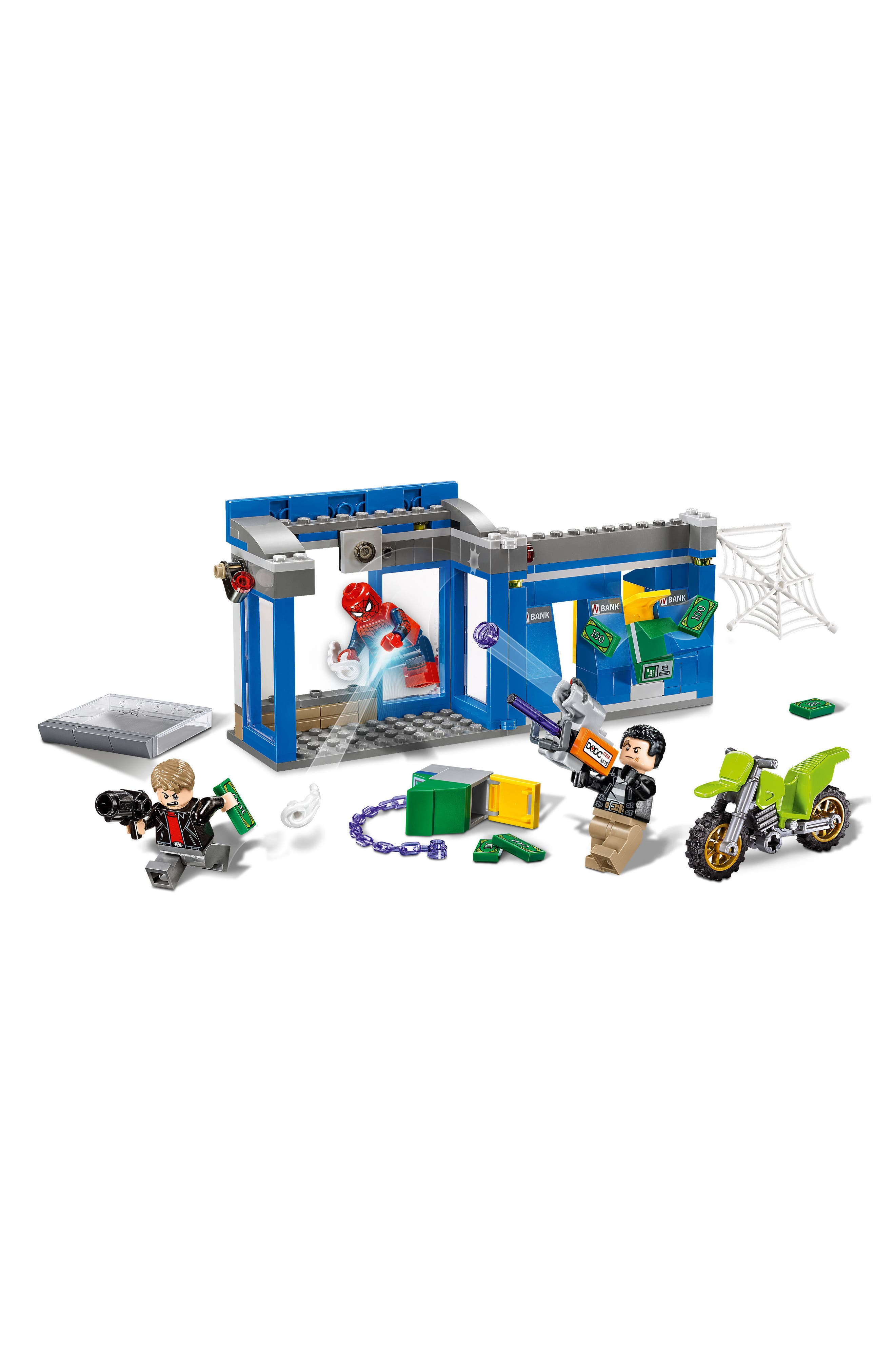 Marvel Super Heroes Spider-Man ATM Heist Battle Set - 76082,                             Alternate thumbnail 3, color,                             400