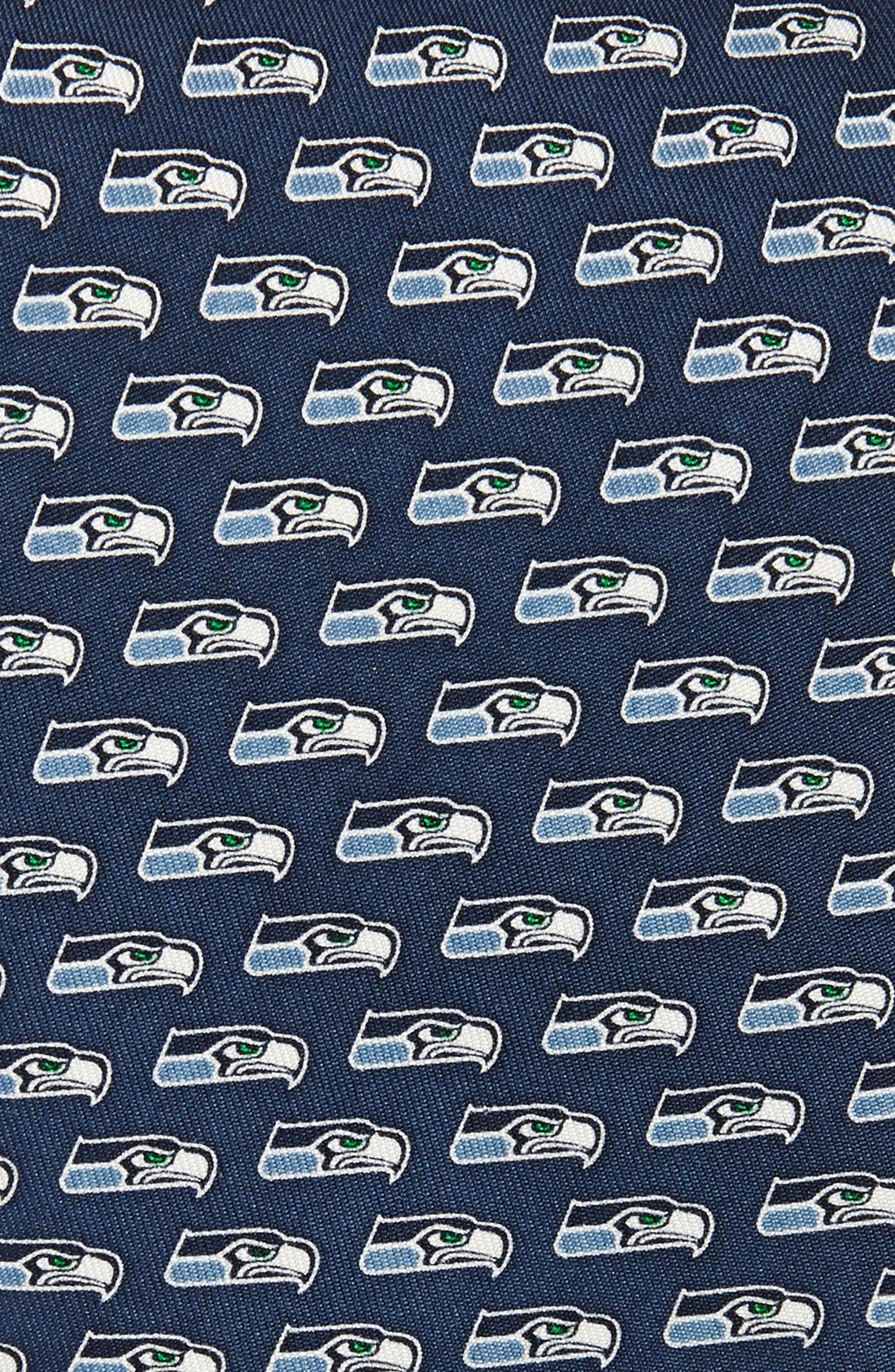 Seattle Seahawks - NFL Woven Silk Tie,                             Alternate thumbnail 2, color,                             414