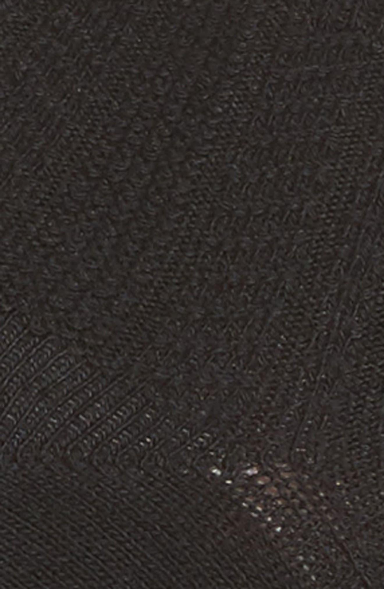 Knit Ankle Socks,                             Alternate thumbnail 2, color,                             001