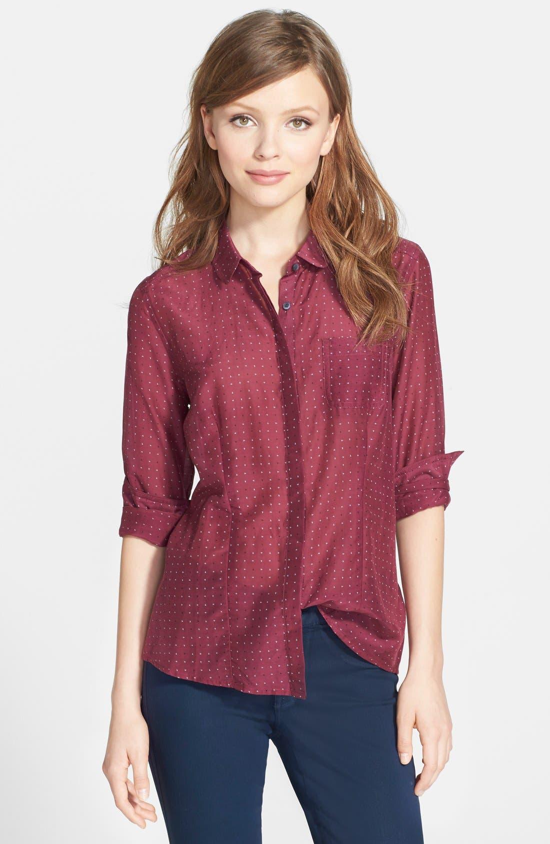 Cotton & Silk Shirt,                             Main thumbnail 32, color,