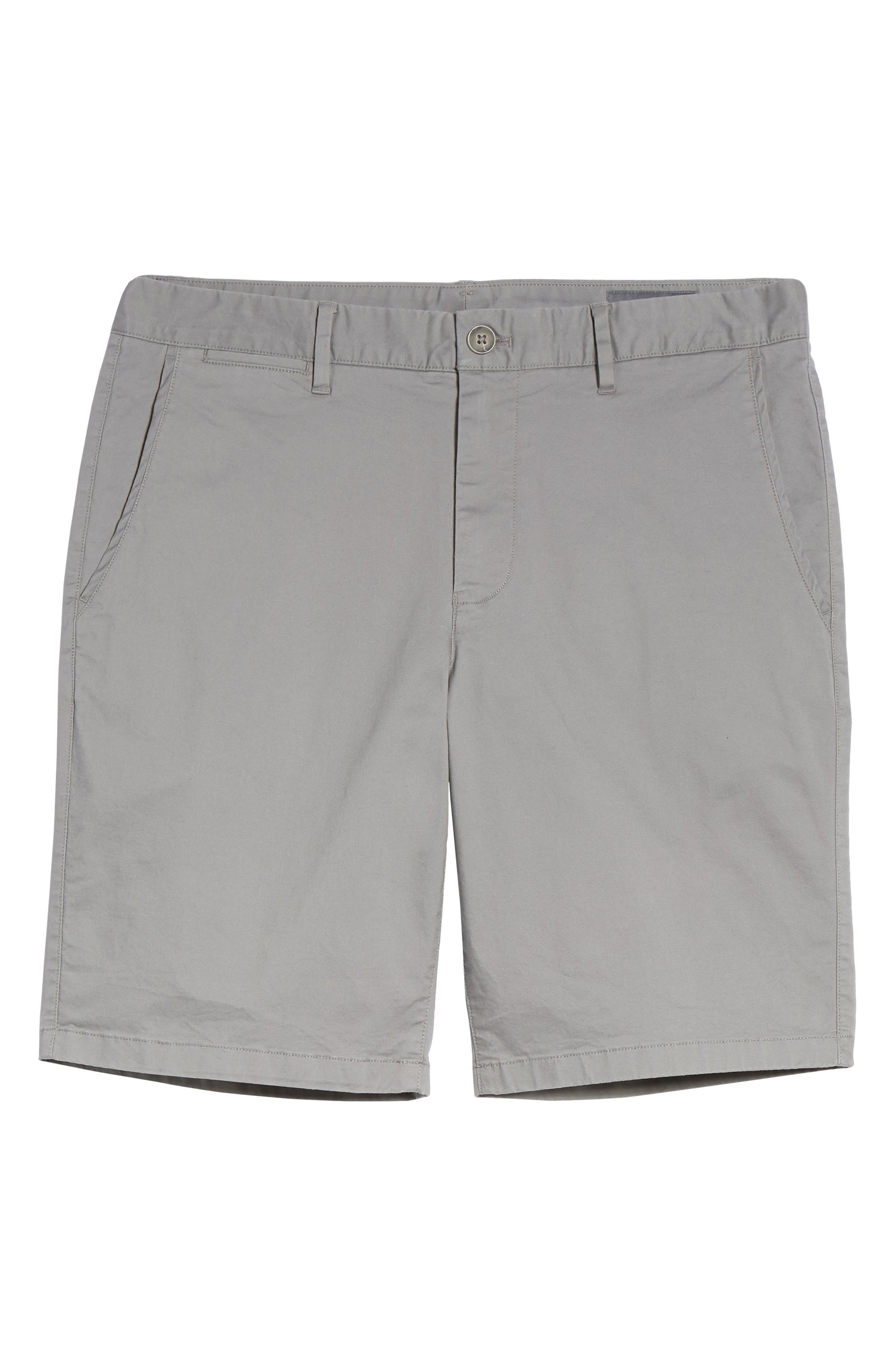 9-Inch Lightweight Stretch Chino Shorts,                             Alternate thumbnail 6, color,                             020