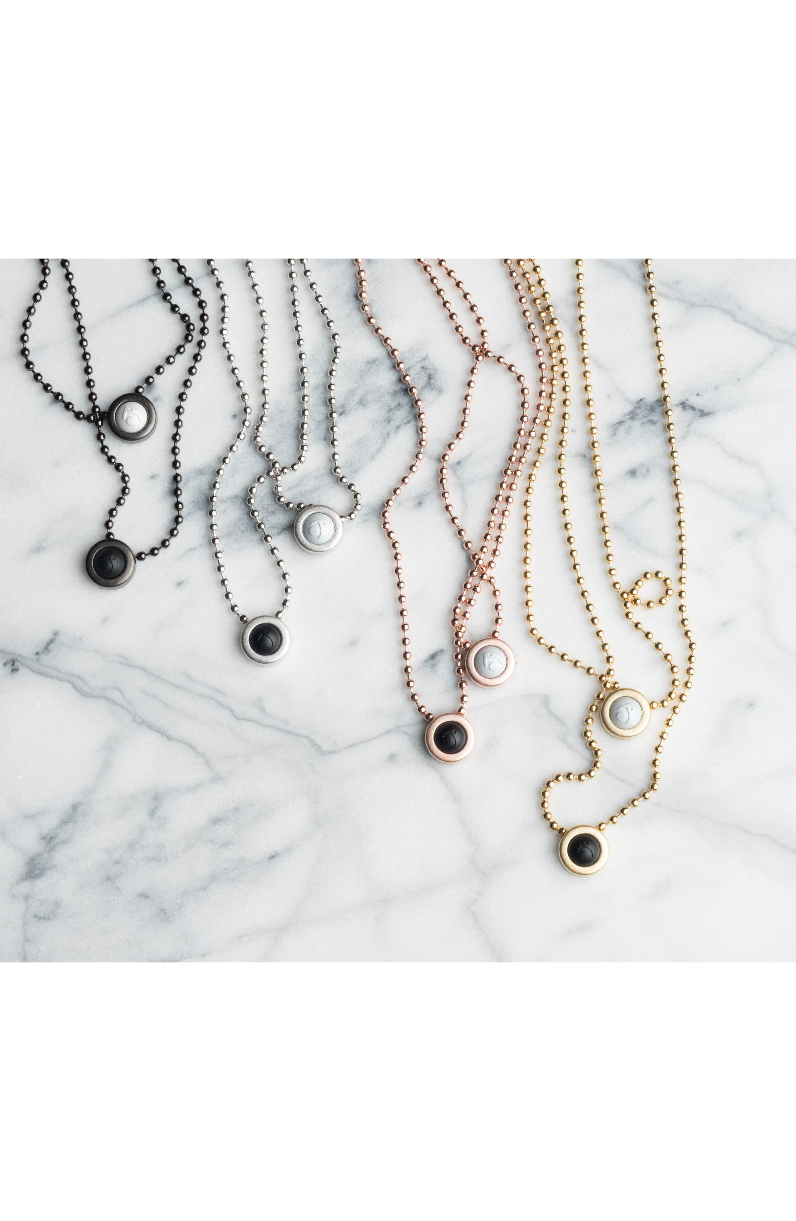 Double Ball Chain Pendant Necklace,                             Alternate thumbnail 10, color,