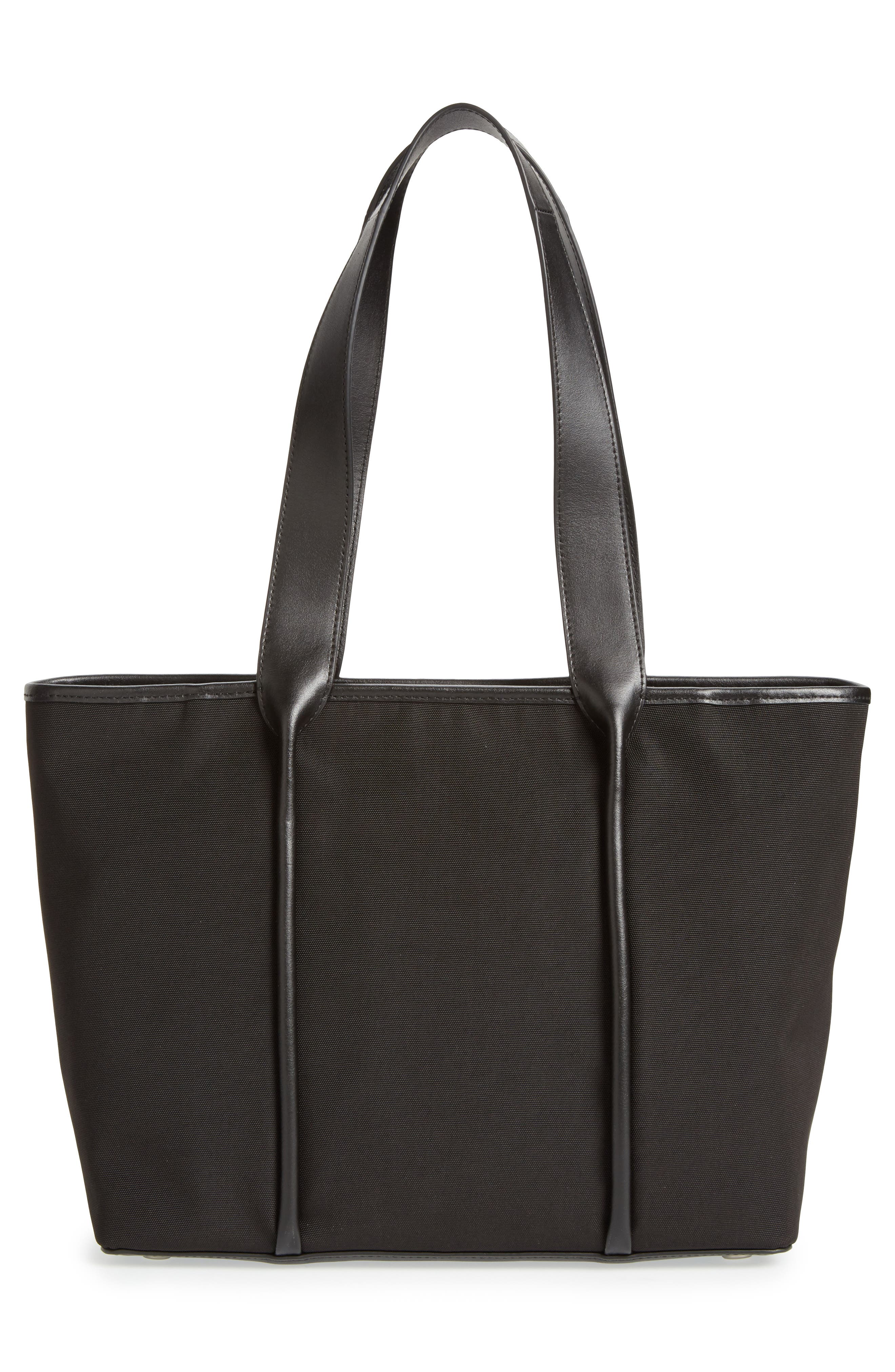 Lisabet Coated Twill Tote,                             Alternate thumbnail 3, color,                             001