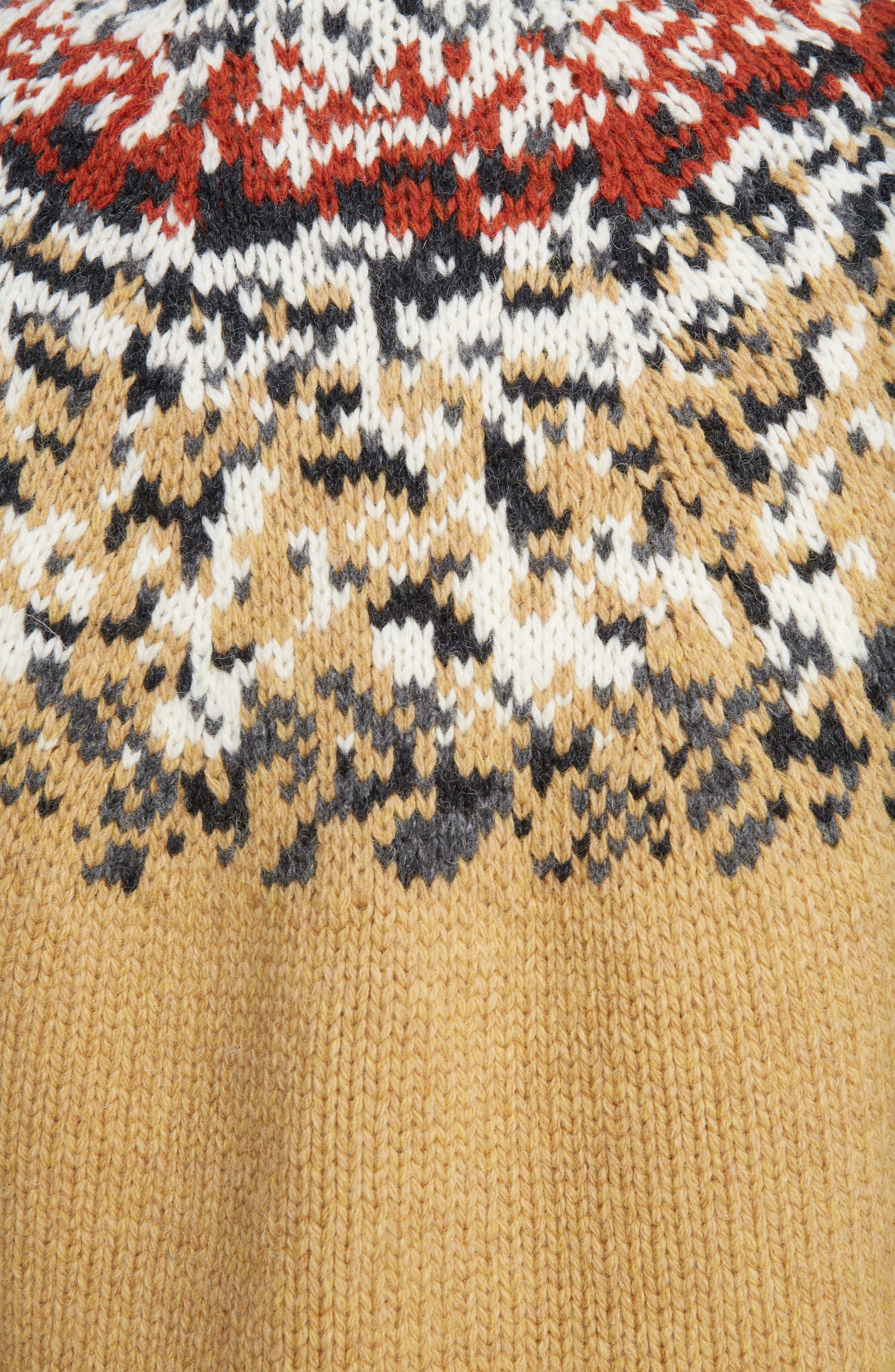 Sirius Heavy Icelandic High Neck Sweater,                             Alternate thumbnail 5, color,                             250
