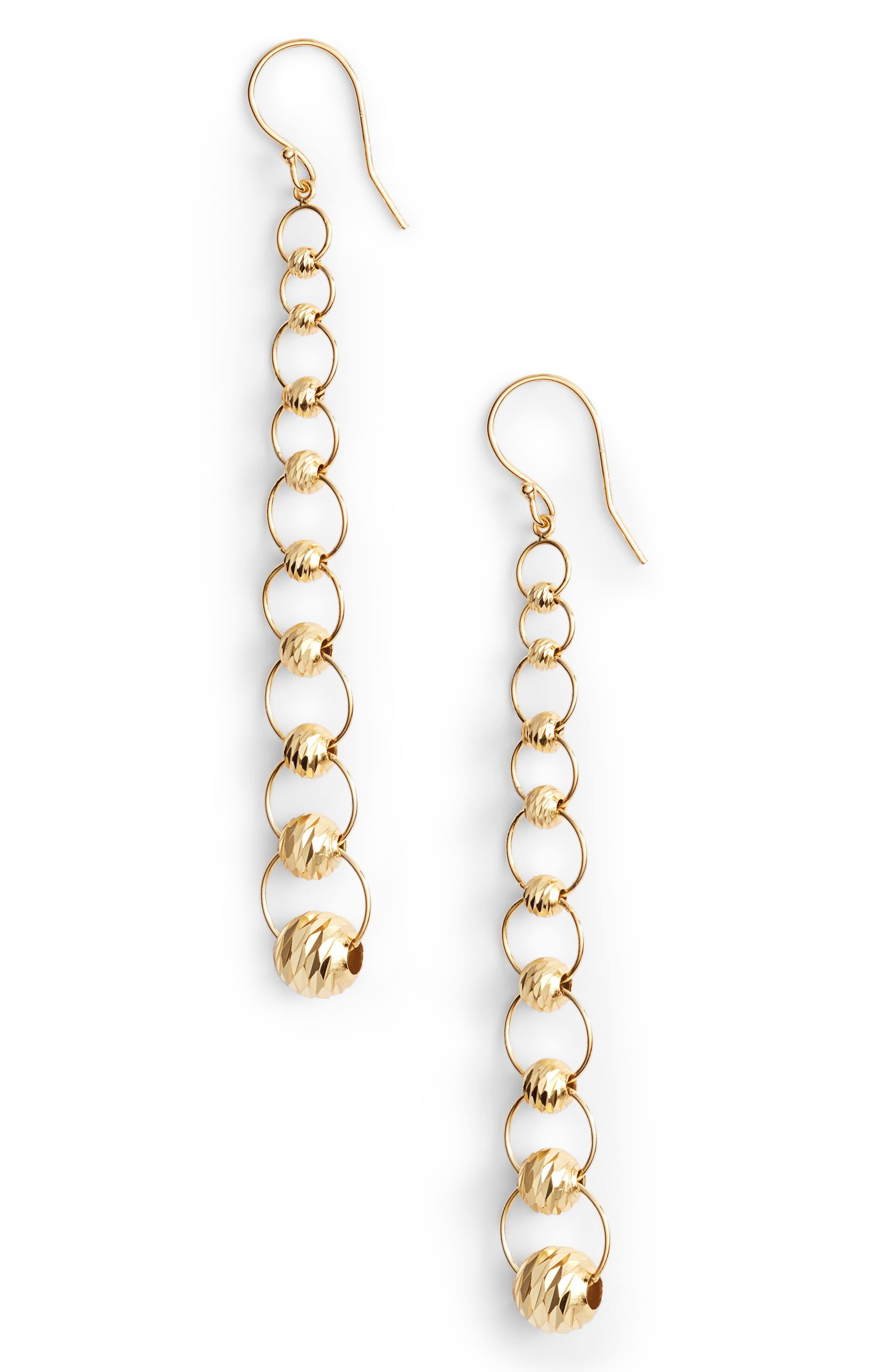 Chain Drop Earrings,                             Main thumbnail 2, color,