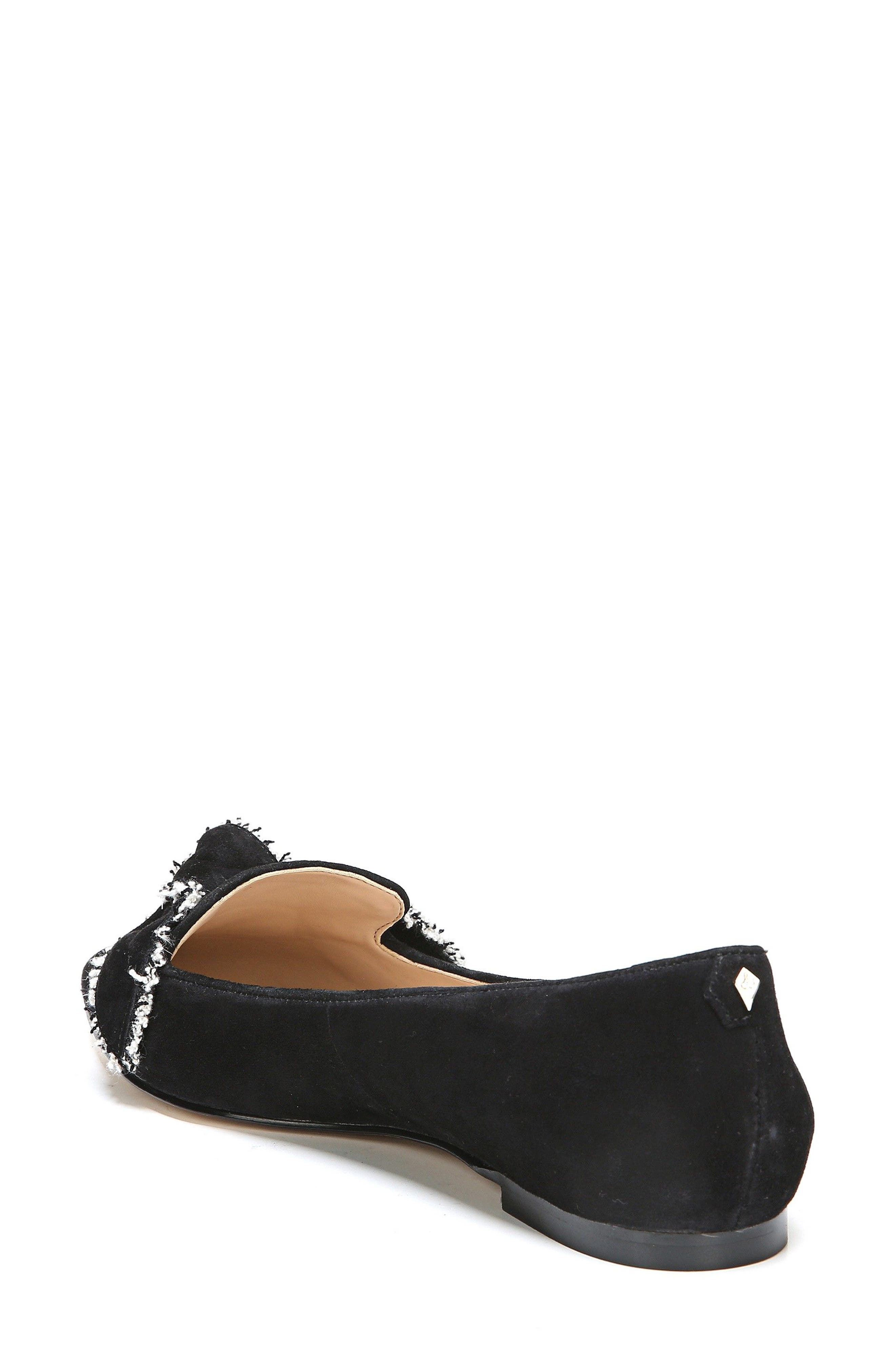 Rochester Bow Pointy Toe Flat,                             Alternate thumbnail 5, color,