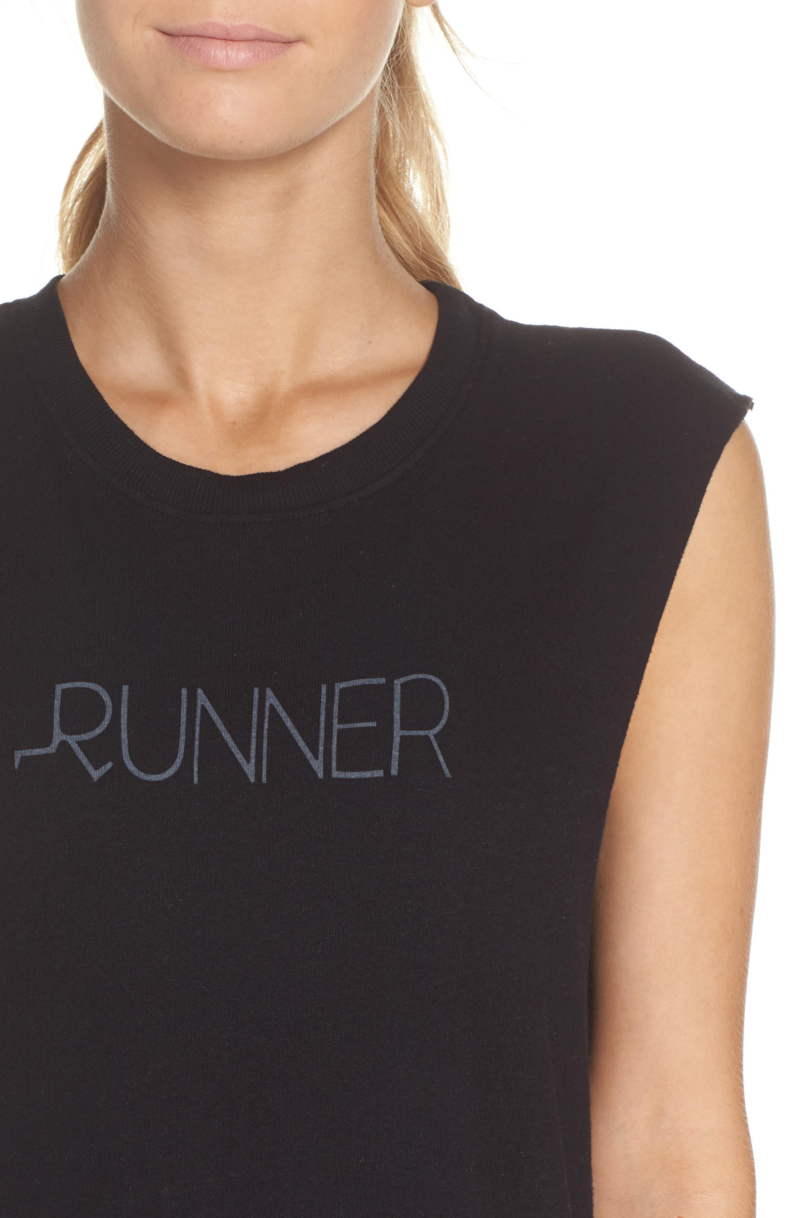 Aquilera Runner Tank,                             Alternate thumbnail 4, color,                             BLACK SAND