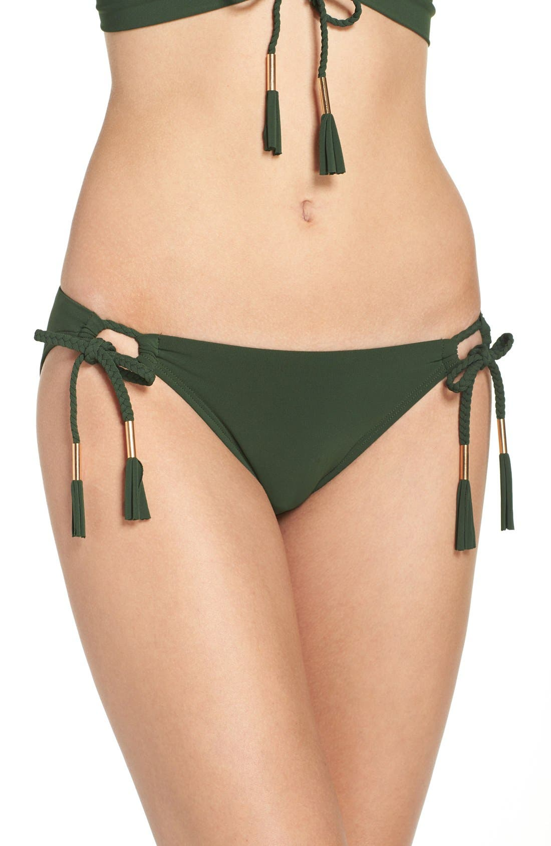 Side Tie Bikini Bottoms,                             Alternate thumbnail 24, color,
