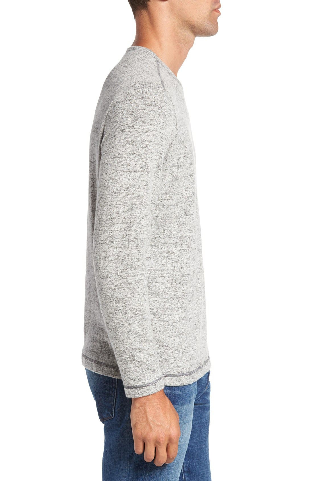 'Leeward' V-Neck Long Sleeve T-Shirt,                             Alternate thumbnail 3, color,                             050