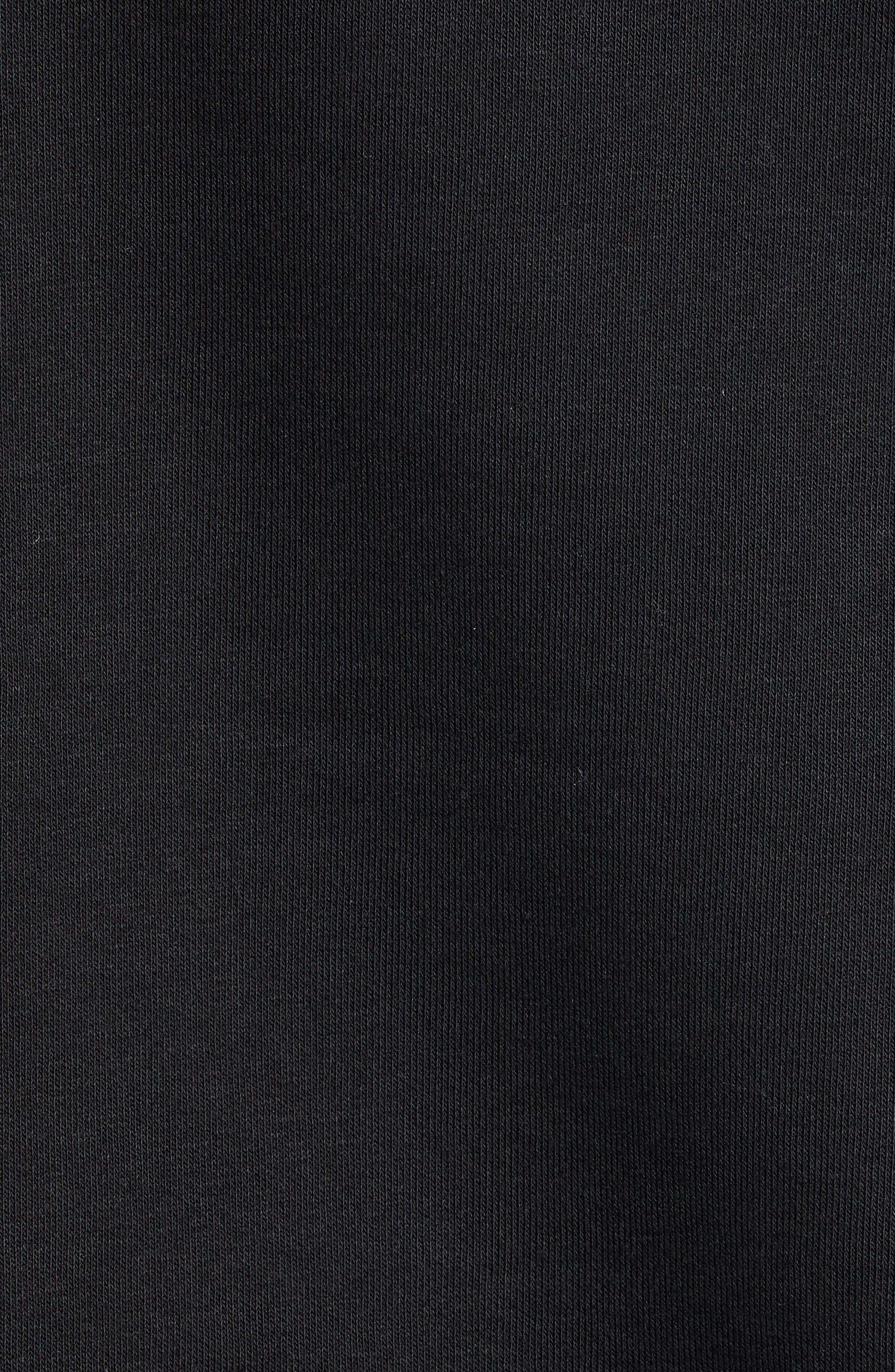 Authentic Esmio Pullover Hoodie,                             Alternate thumbnail 5, color,                             BLACK