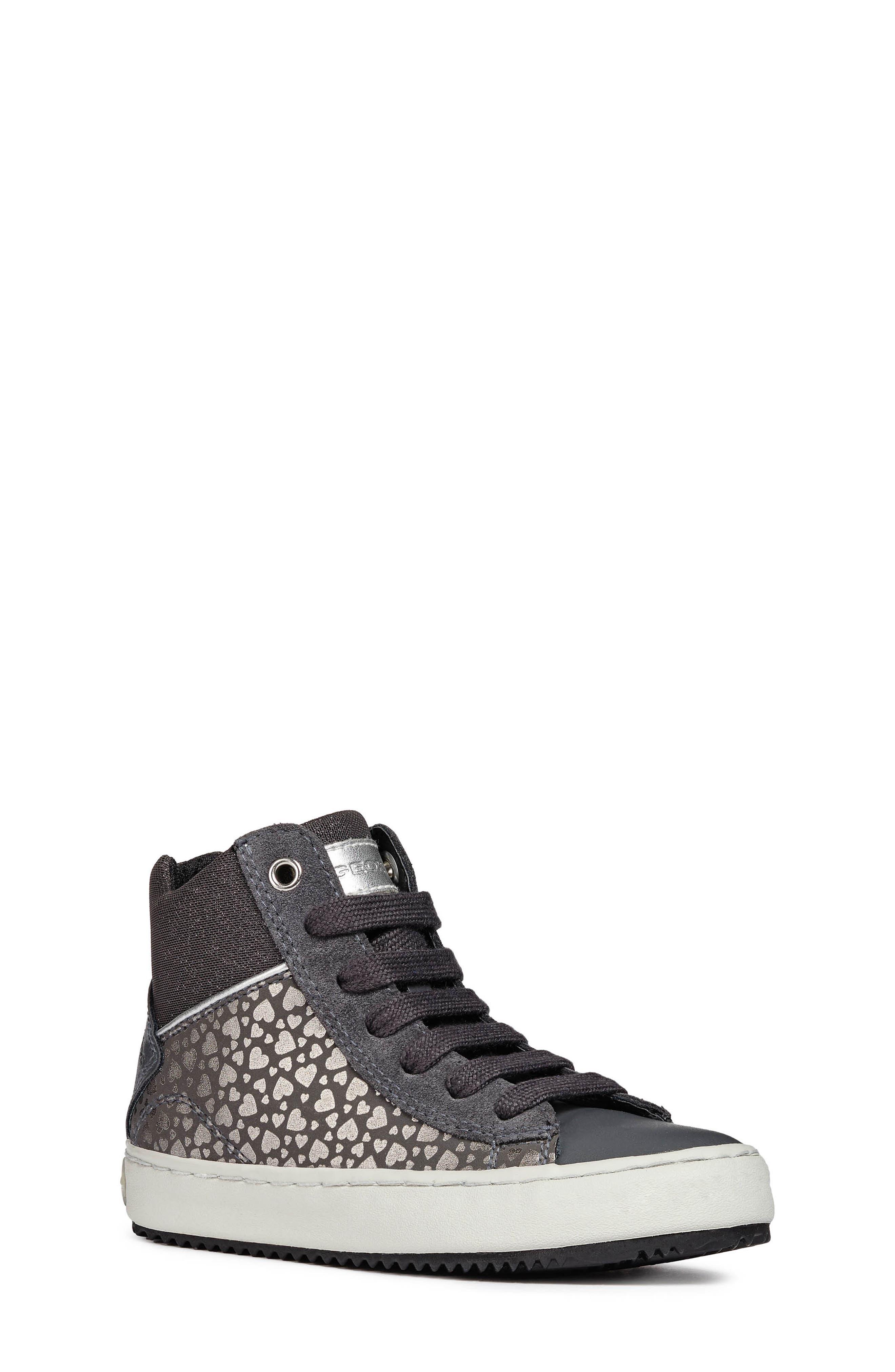 Kalispera High Top Sneaker,                             Main thumbnail 1, color,                             DARK GREY