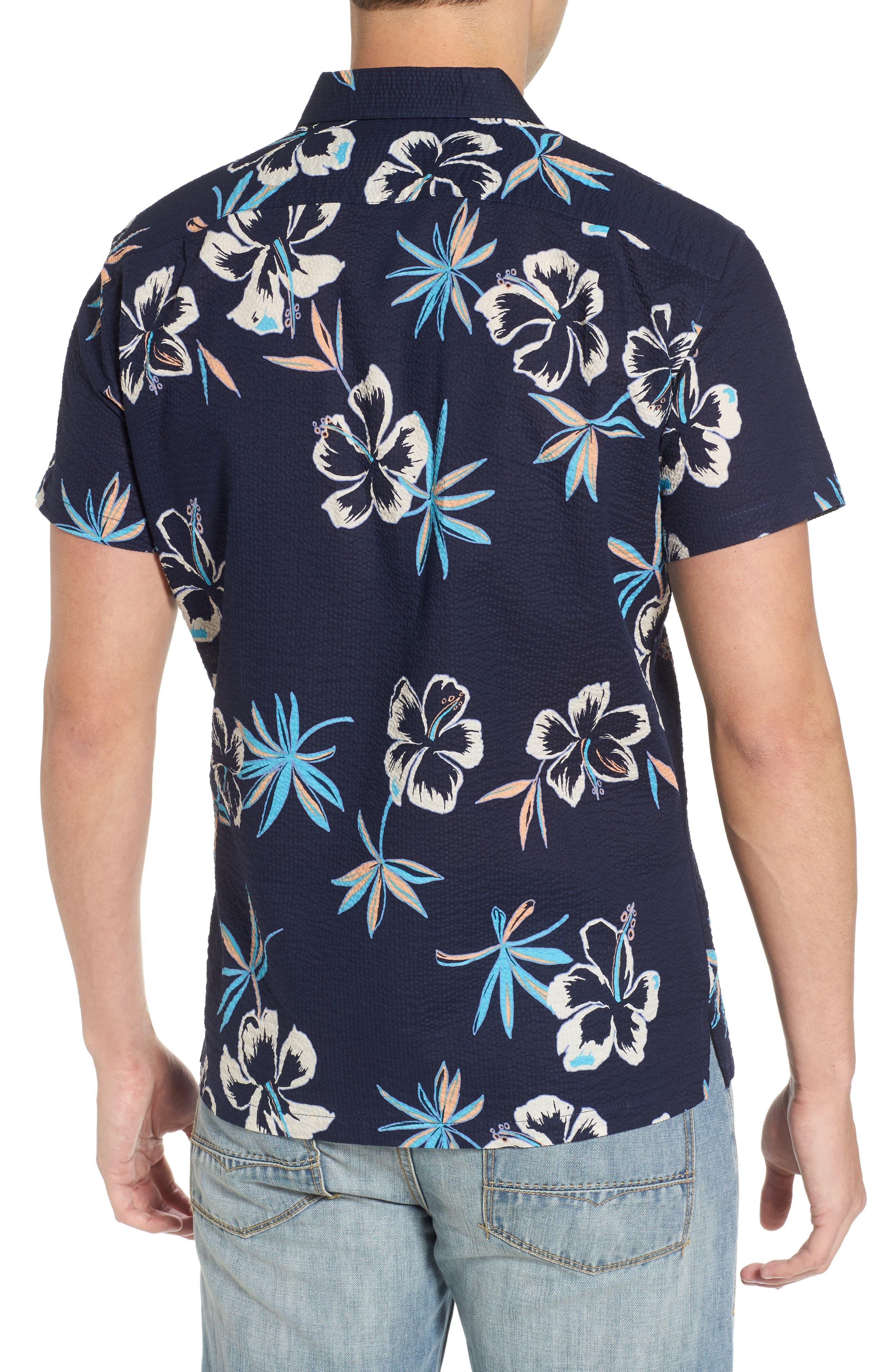 So Fresh Trim Fit Cotton Lawn Sport Shirt,                             Alternate thumbnail 2, color,                             415