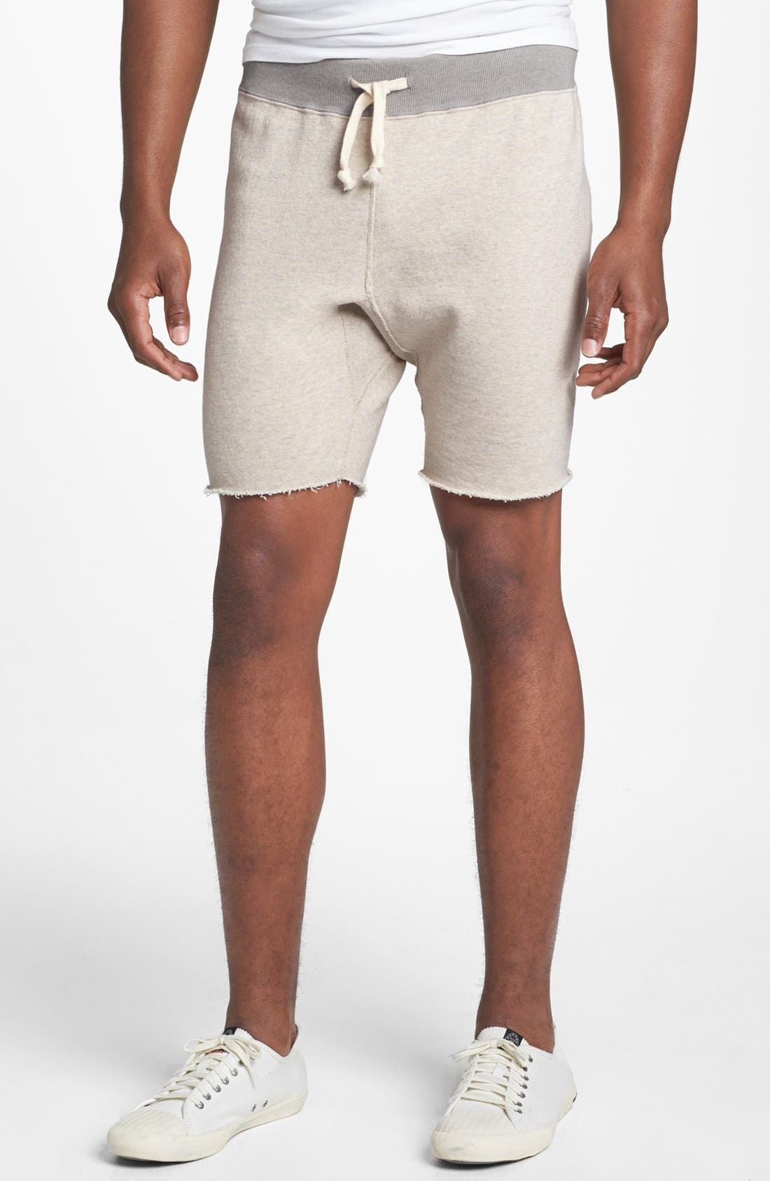 Knit Cotton Shorts,                             Main thumbnail 3, color,
