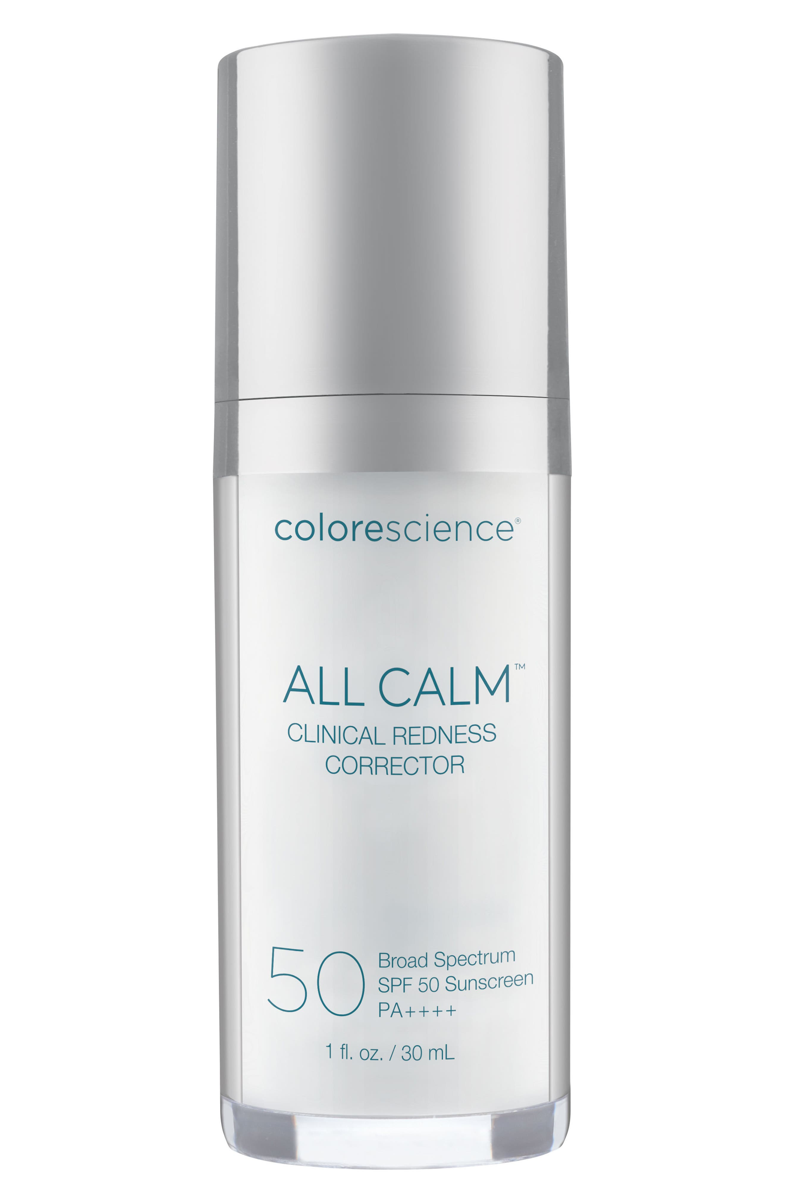 All Calm<sup>™</sup> Clinical Redness Corrector Broad Spectrum SPF 50 PA++++,                             Main thumbnail 1, color,                             NO COLOR