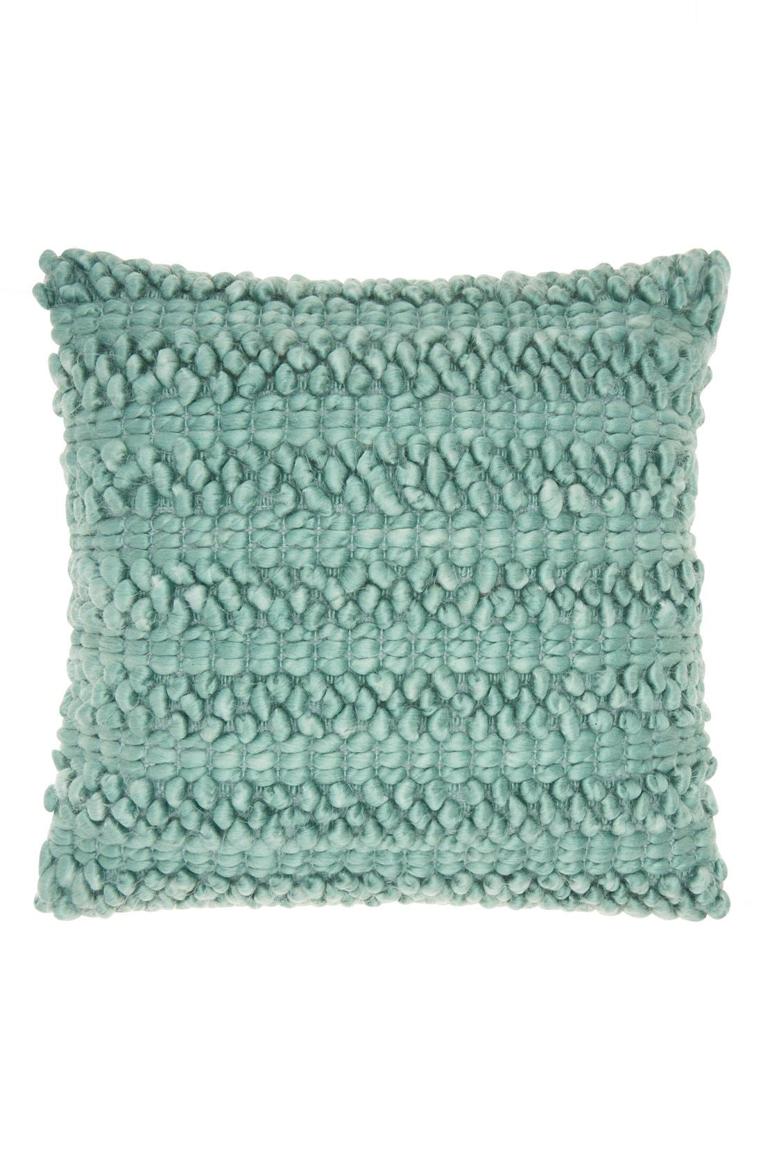 Pom Pom Pillow,                         Main,                         color, 440