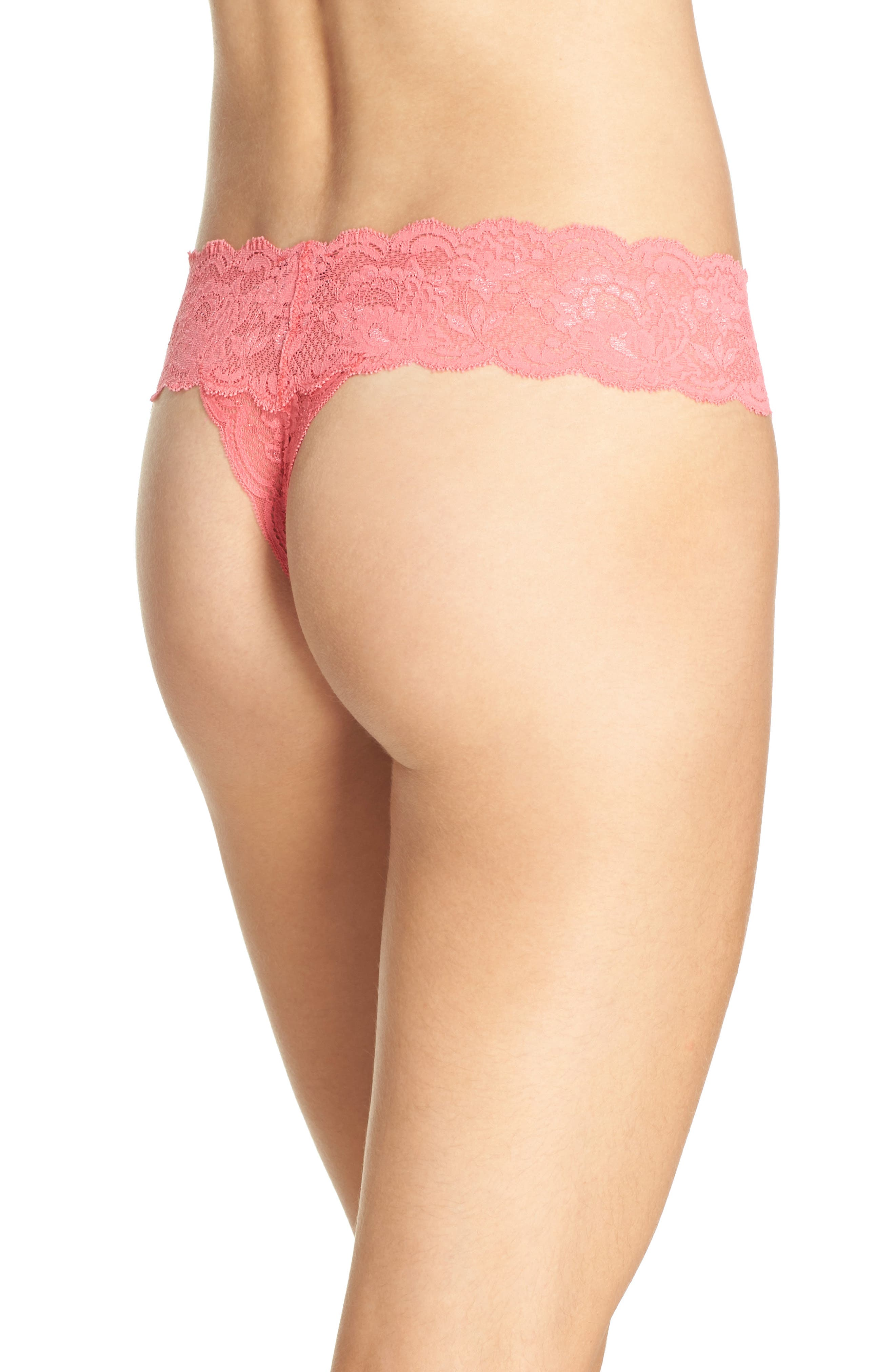 'Never Say Never Cutie' Thong,                             Alternate thumbnail 233, color,