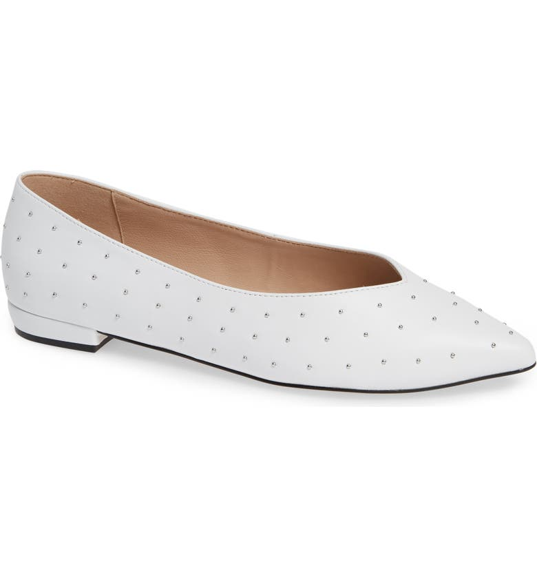Look for Something Navy Snbea Studded Flat (Women) (Nordstrom Exclusive) Great buy