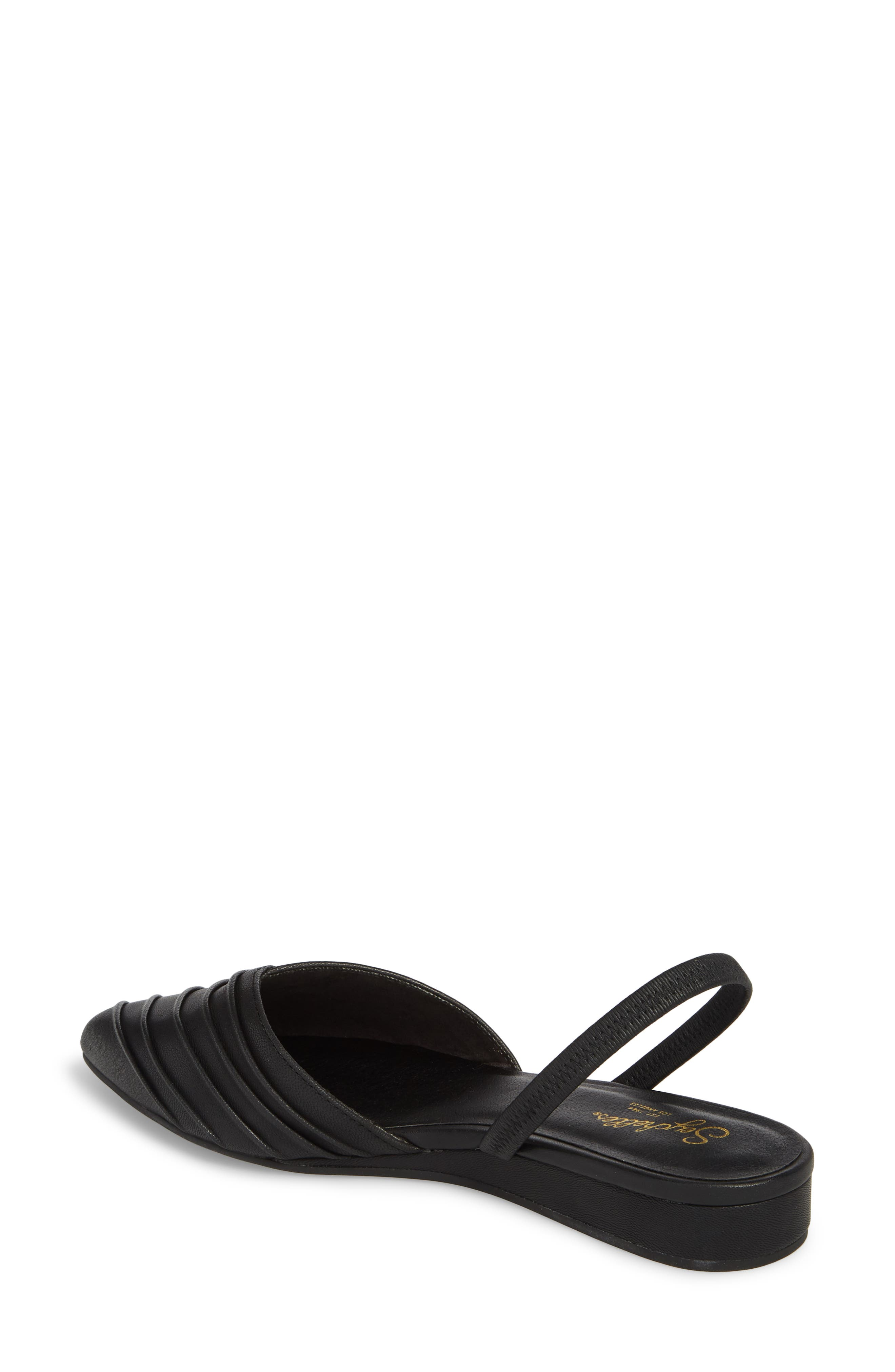 Highly Touted Pointy Toe Flat,                             Alternate thumbnail 2, color,                             002
