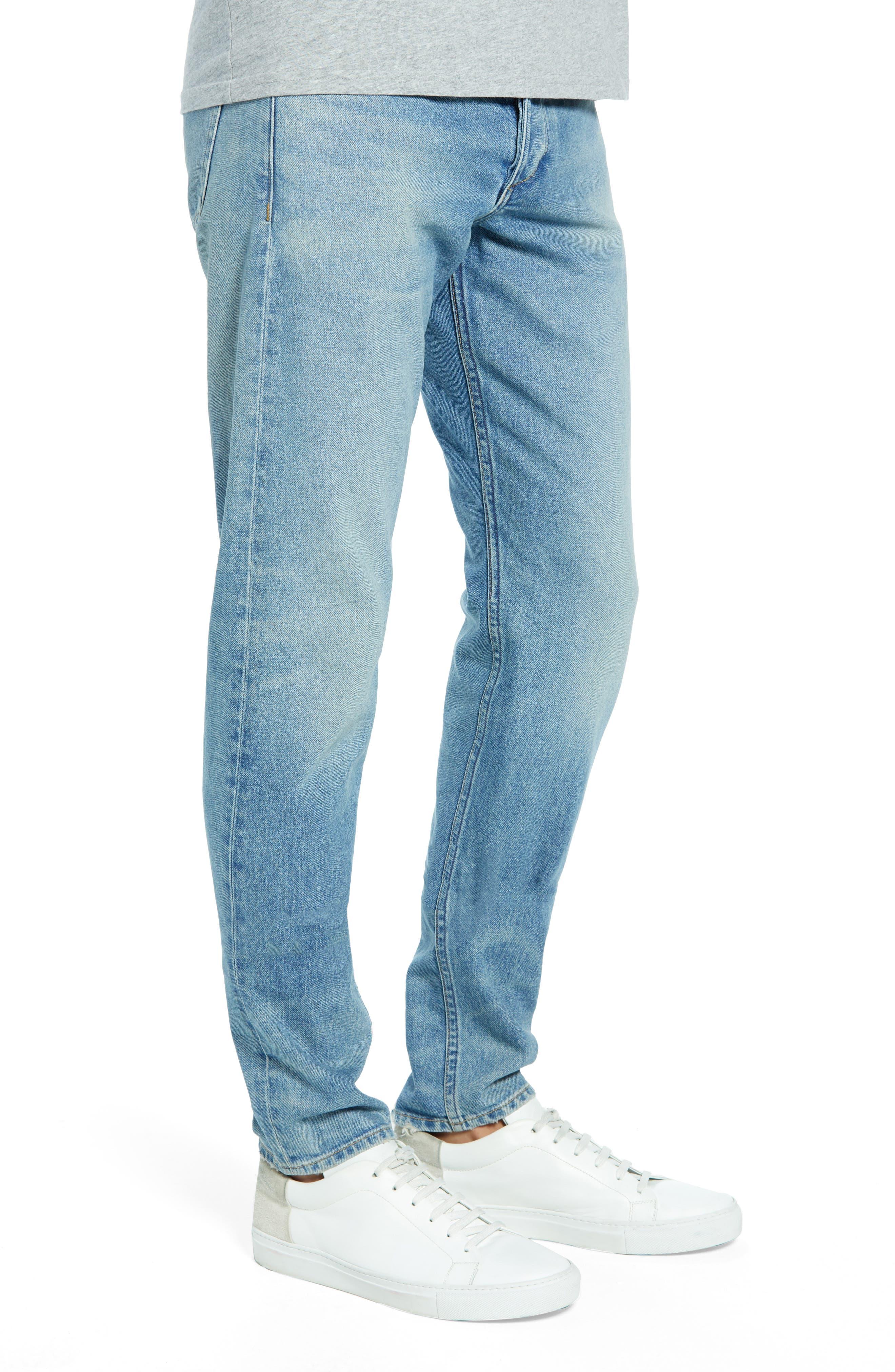 Fit 1 Skinny Fit Jeans,                             Alternate thumbnail 3, color,                             JAMIE