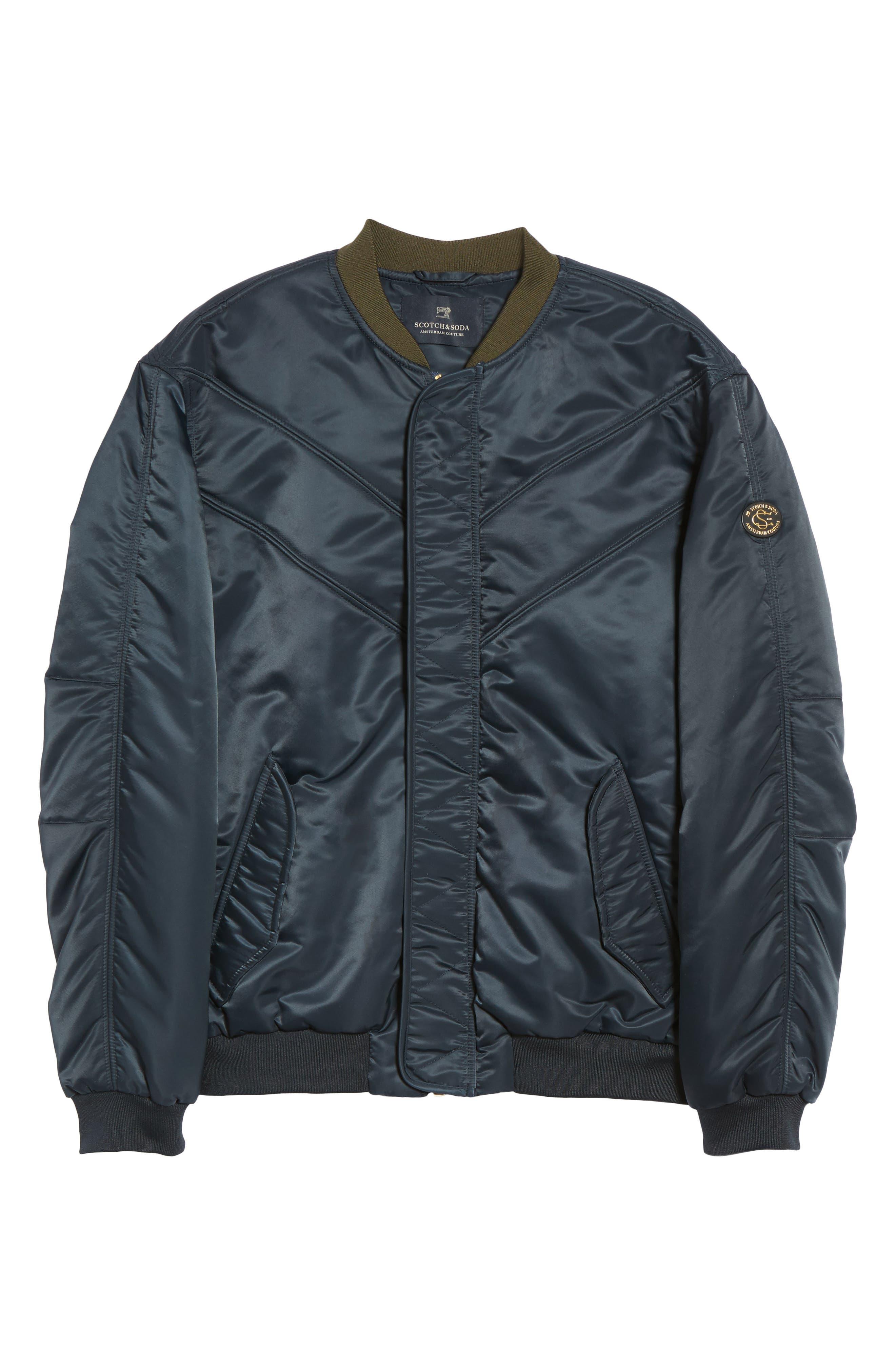 Bomber Jacket,                             Alternate thumbnail 5, color,